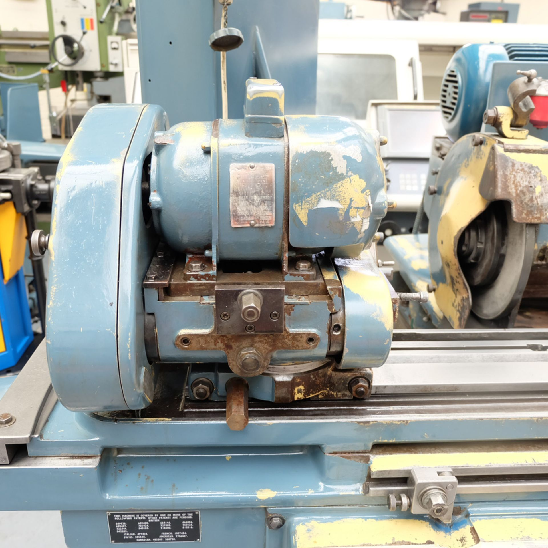 "Jones & Shipman Model 1310 EIU Universal Cylindrical Grinder. Capacity 18"" x 8"". - Image 3 of 11"