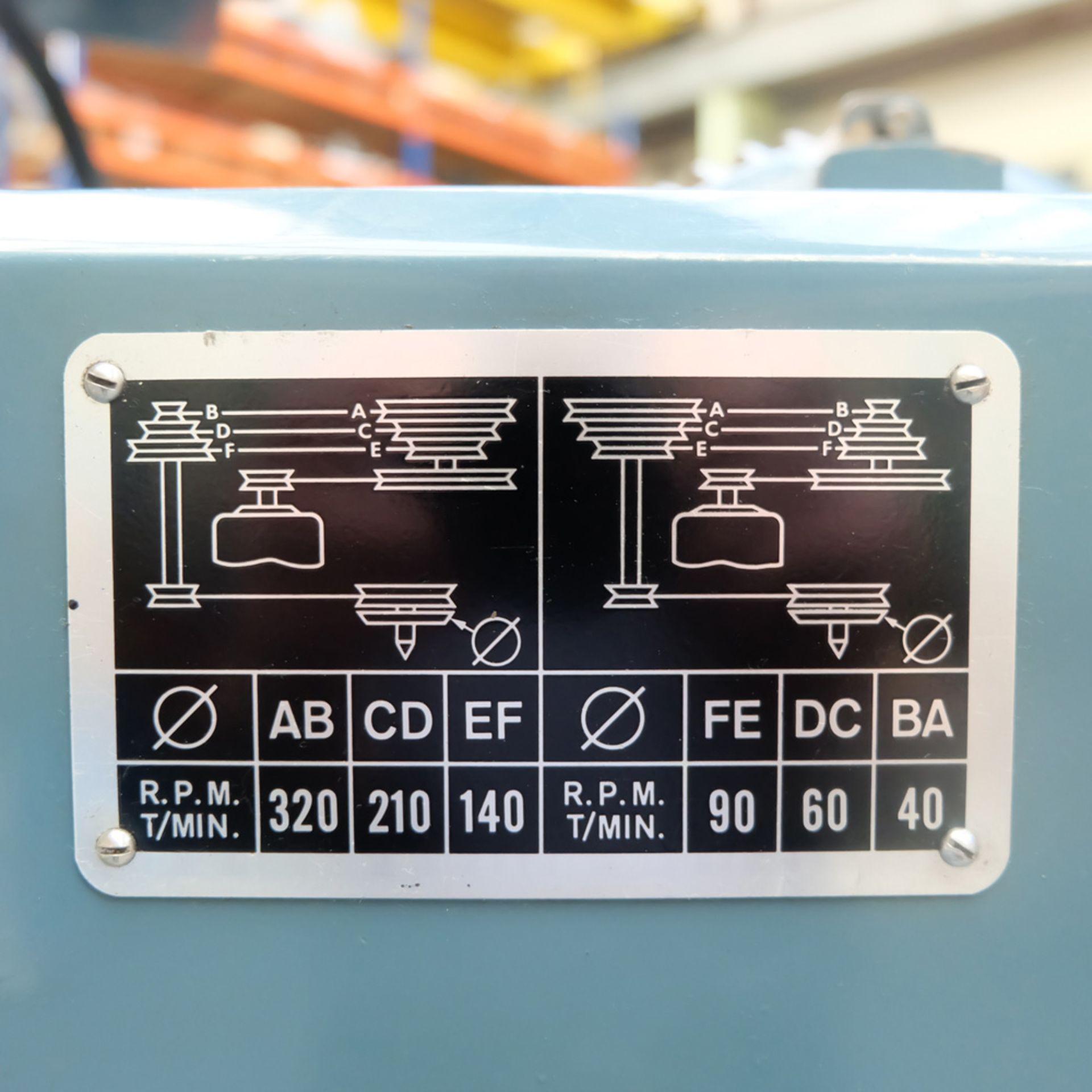 "Jones & Shipman Model 1311 EIU Universal Cylindrical Grinder. Capacity 18"" x 10"". - Image 10 of 12"