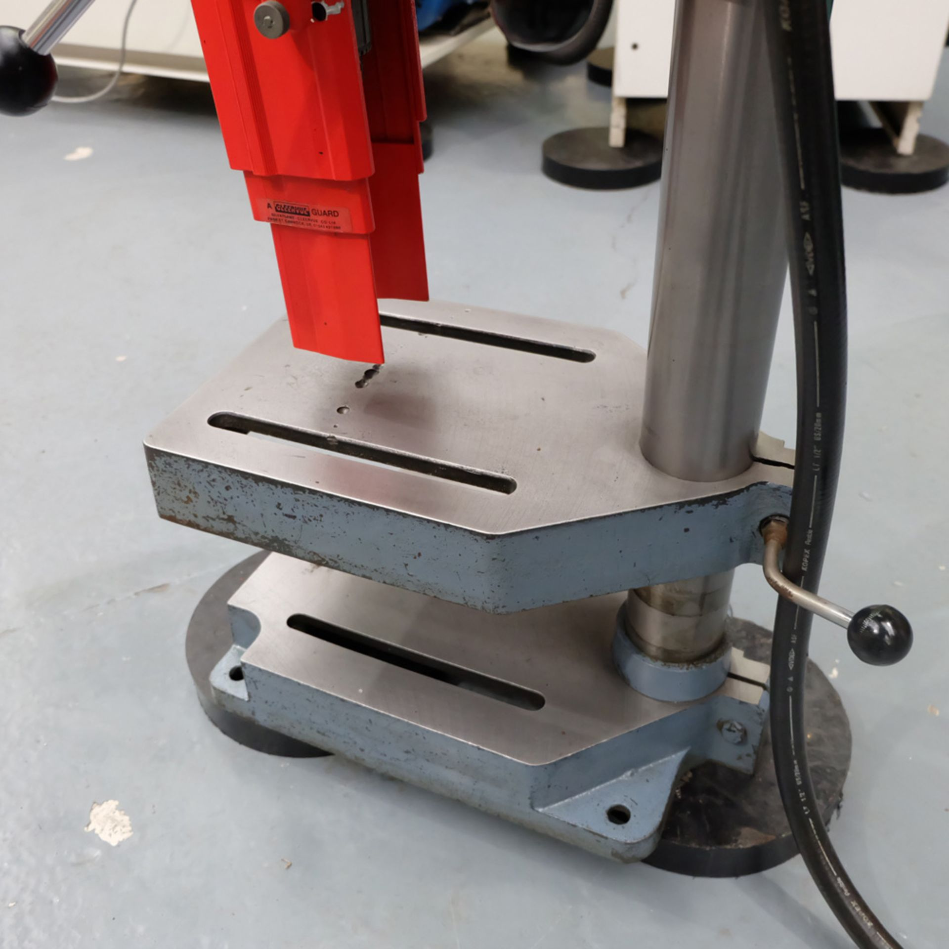 """Meddings Drilltru DTF Bench Drill. Capacity 1/2"""". Table Size 9"""" x 11"""". - Image 5 of 7"""
