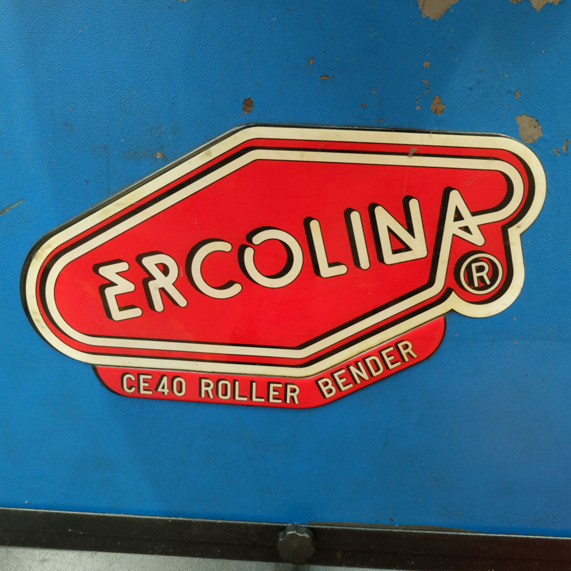 Ercolina Type CE40MR3 Angle Rolls. Horizontal or Vertical Positioning Roll Shaft Diameter 40mm. - Image 6 of 11