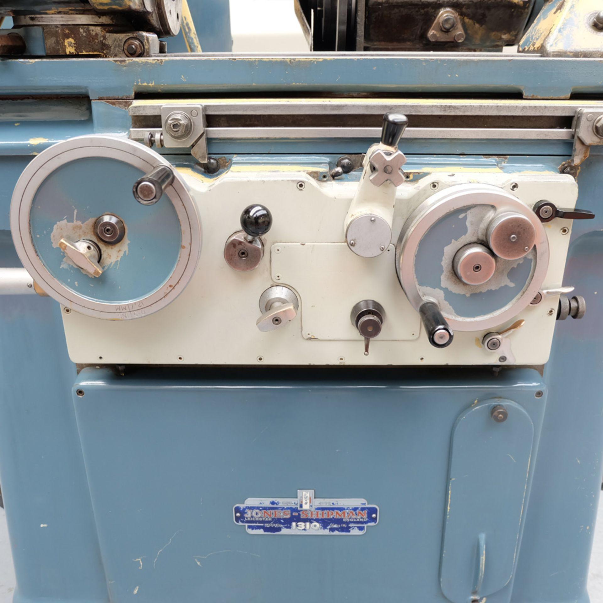 "Jones & Shipman Model 1310 EIU Universal Cylindrical Grinder. Capacity 18"" x 8"". - Image 2 of 11"