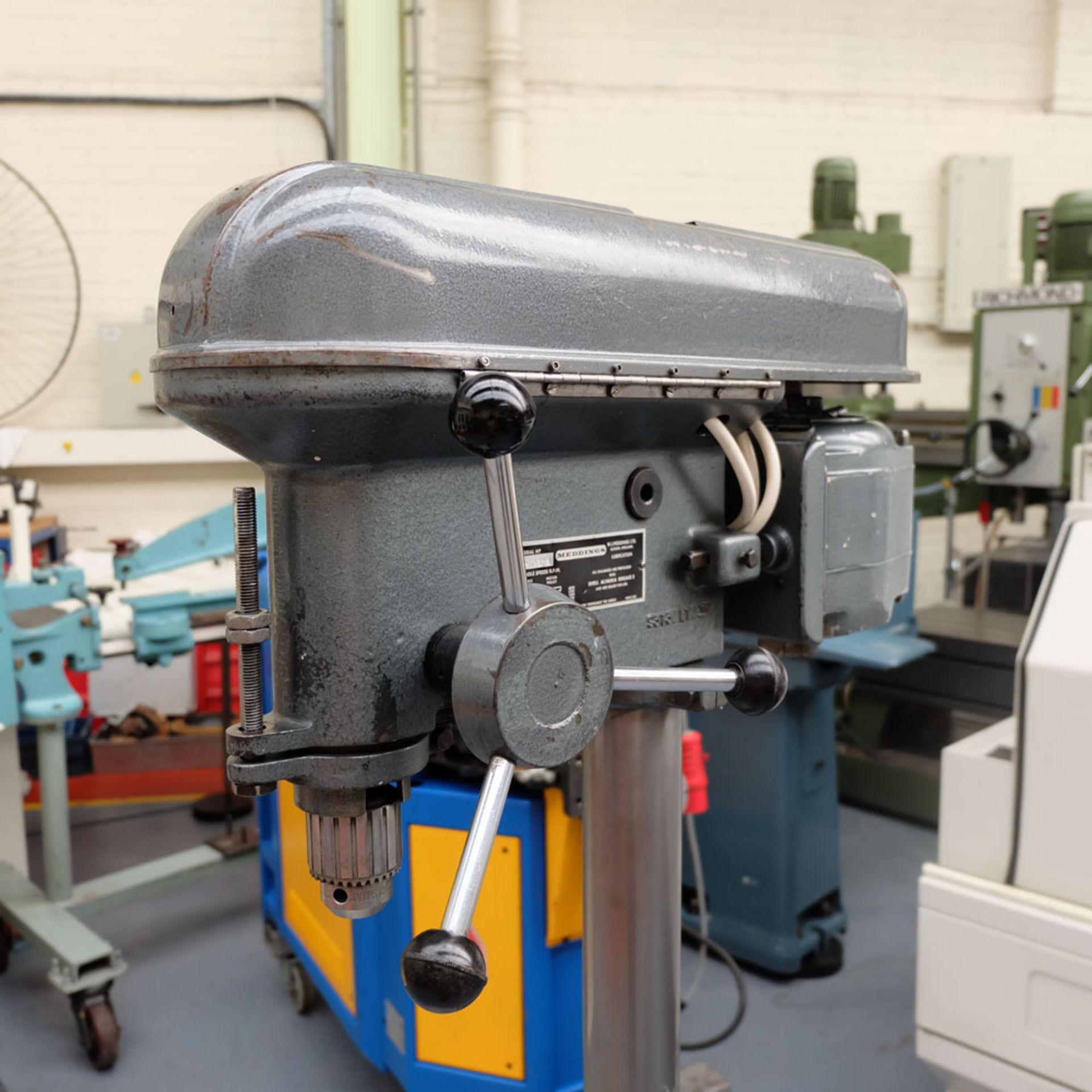 """Meddings LT Pillar Drill. Capacity 1/2"""". 5 Speeds 500 - 4000rpm. - Image 3 of 5"""