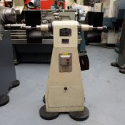 Viceroy Model TDS9 Double Ended Pedestal Polishing Machine.