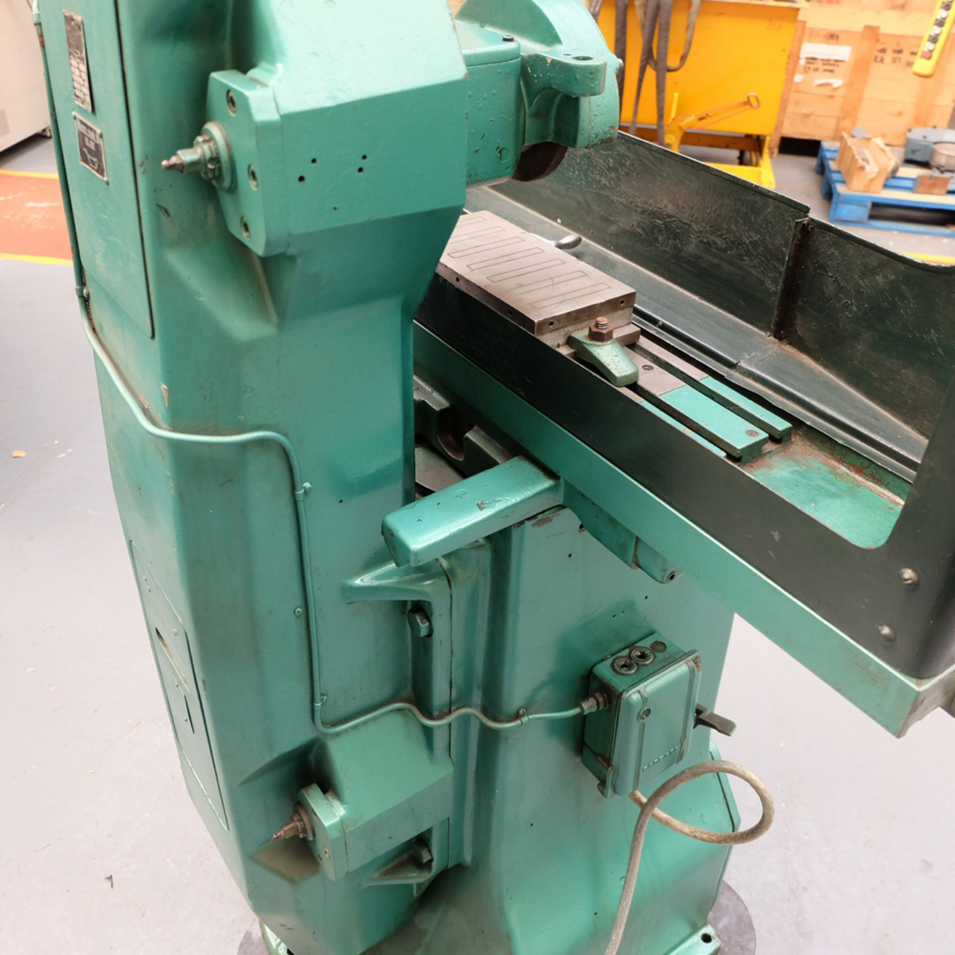 "Jones & Shipman 540 Tool Room Surface Grinder. Capacity 18"" x 6"". - Image 5 of 7"