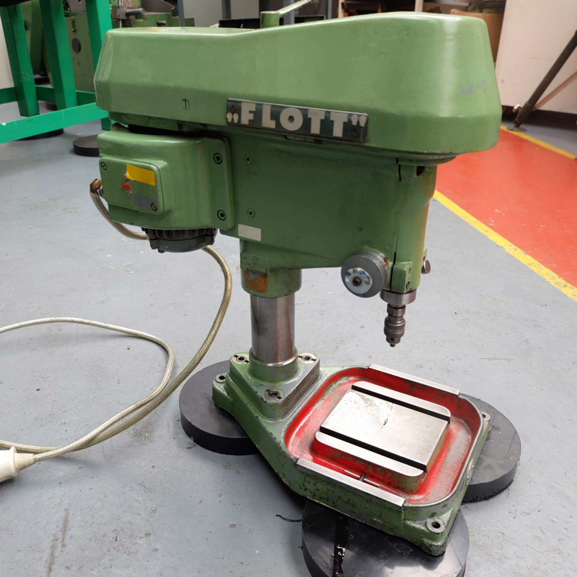 "Flott Type TB6 High Speed Bench Drill. Throat 6 1/2"". Capacity 1/4"". - Image 4 of 4"