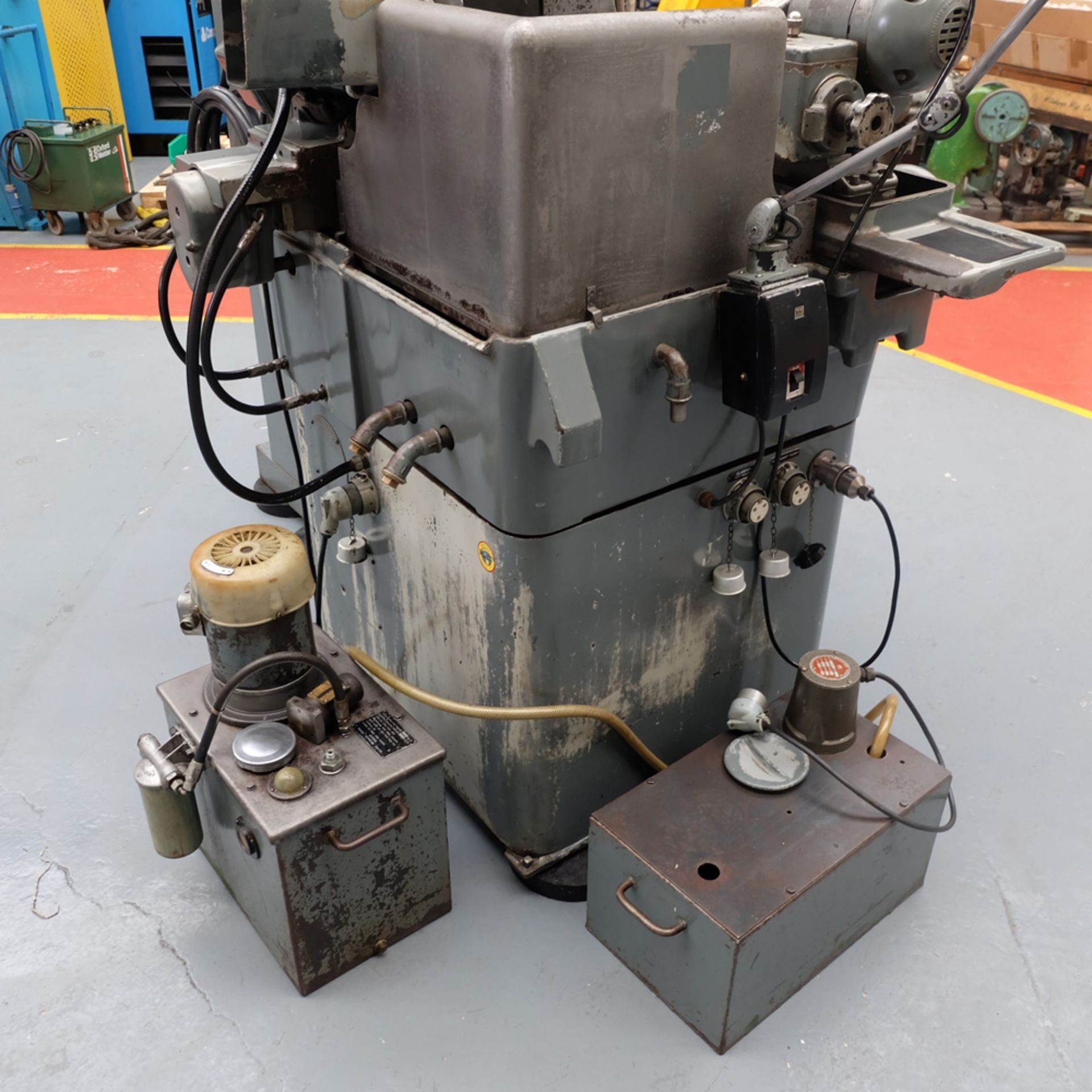"Myford MG12-HA Hydraulic Cylindrical Grinder. Max Grinding Capacity 3"" Diameter. - Image 10 of 16"