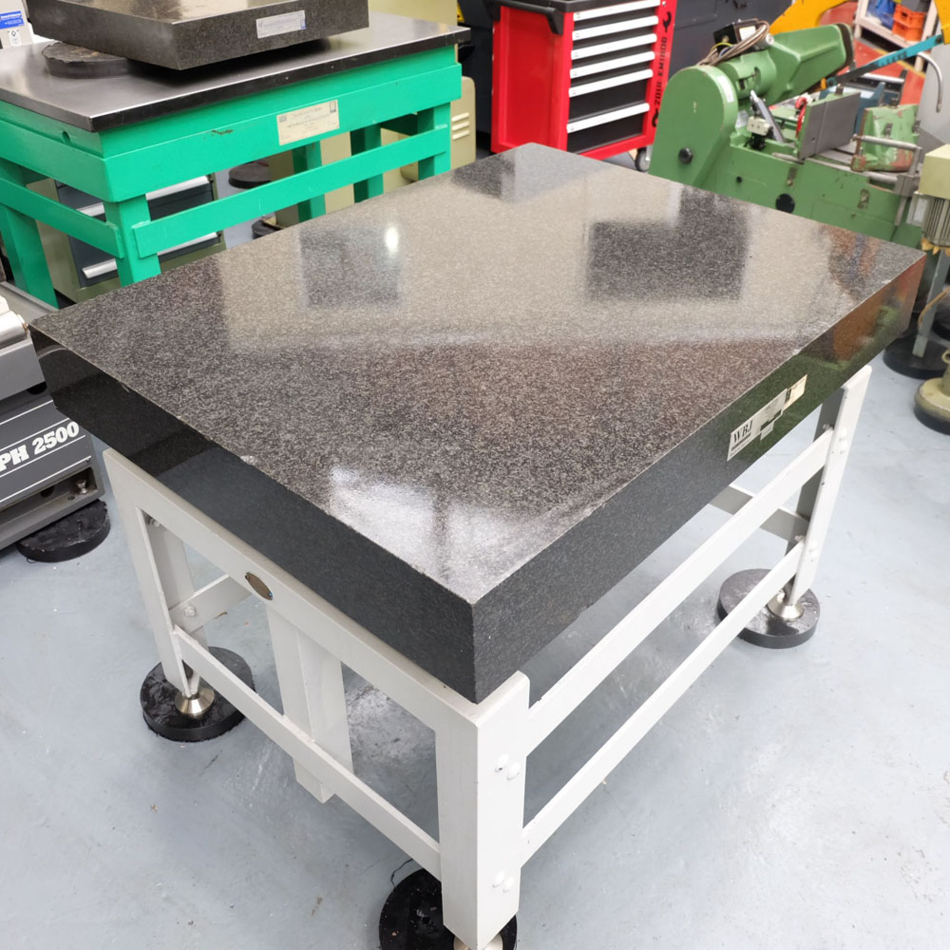 """WBJ Granite Surface Table. Size 48"""" x 36"""". Thickness 6"""". - Image 3 of 6"""