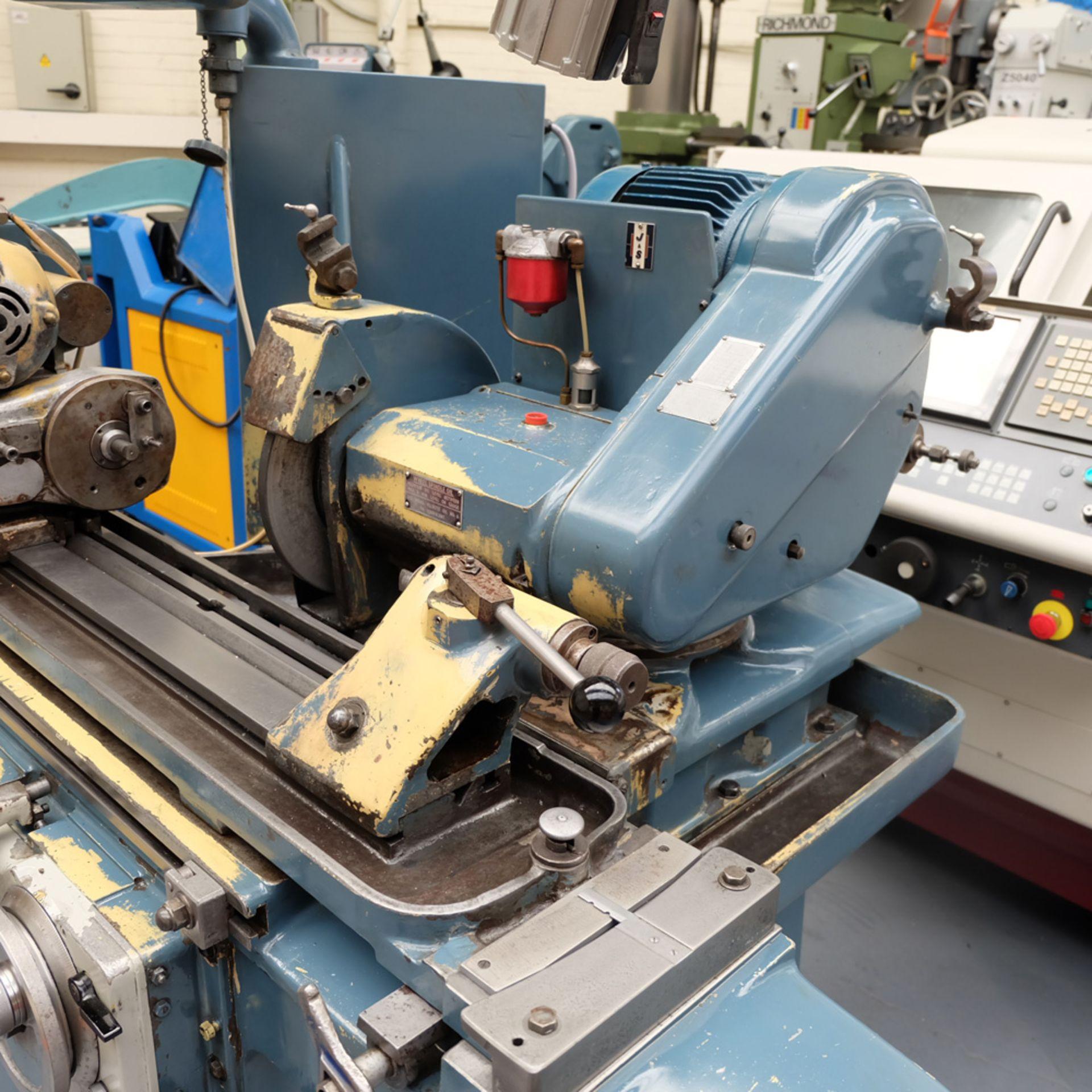 "Jones & Shipman Model 1310 EIU Universal Cylindrical Grinder. Capacity 18"" x 8"". - Image 5 of 11"
