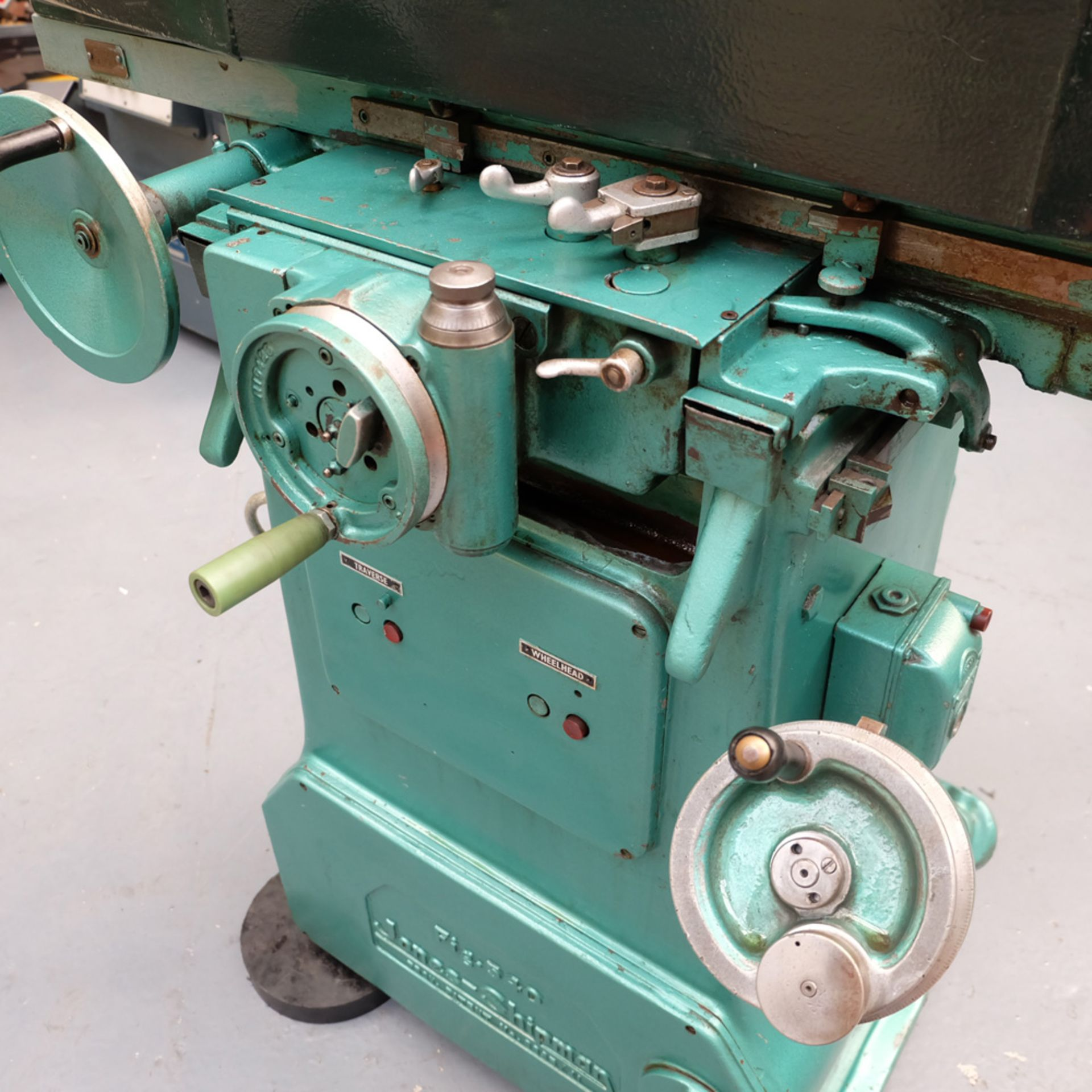 "Jones & Shipman 540 Tool Room Surface Grinder. Capacity 18"" x 6"". - Image 3 of 7"