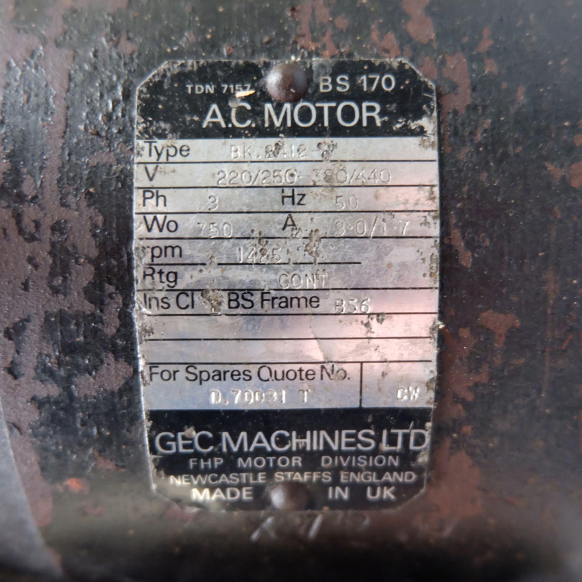 Startrite Mecury 5 Speed Bench Drill. Speeds 530 - 3830rpm. 3 Phase. - Image 4 of 5