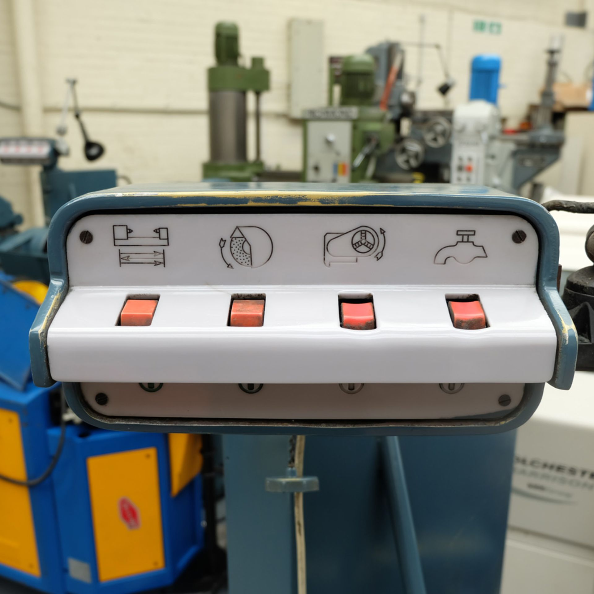 "Jones & Shipman Model 1310 EIU Universal Cylindrical Grinder. Capacity 18"" x 8"". - Image 8 of 11"