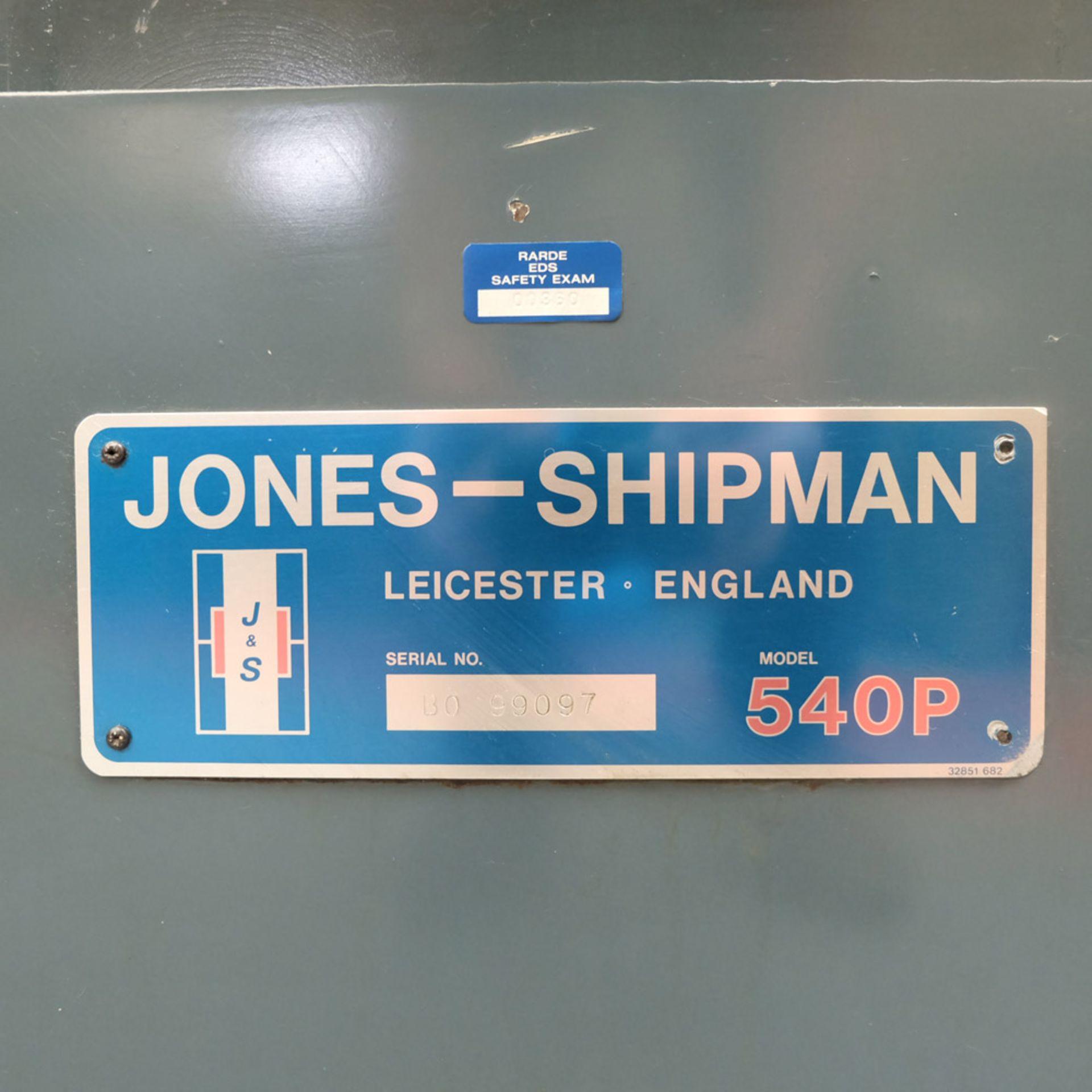 "Jones & Shipman 540P Tool Room Surface Grinder. Capacity 18"" x 6"". - Image 6 of 7"