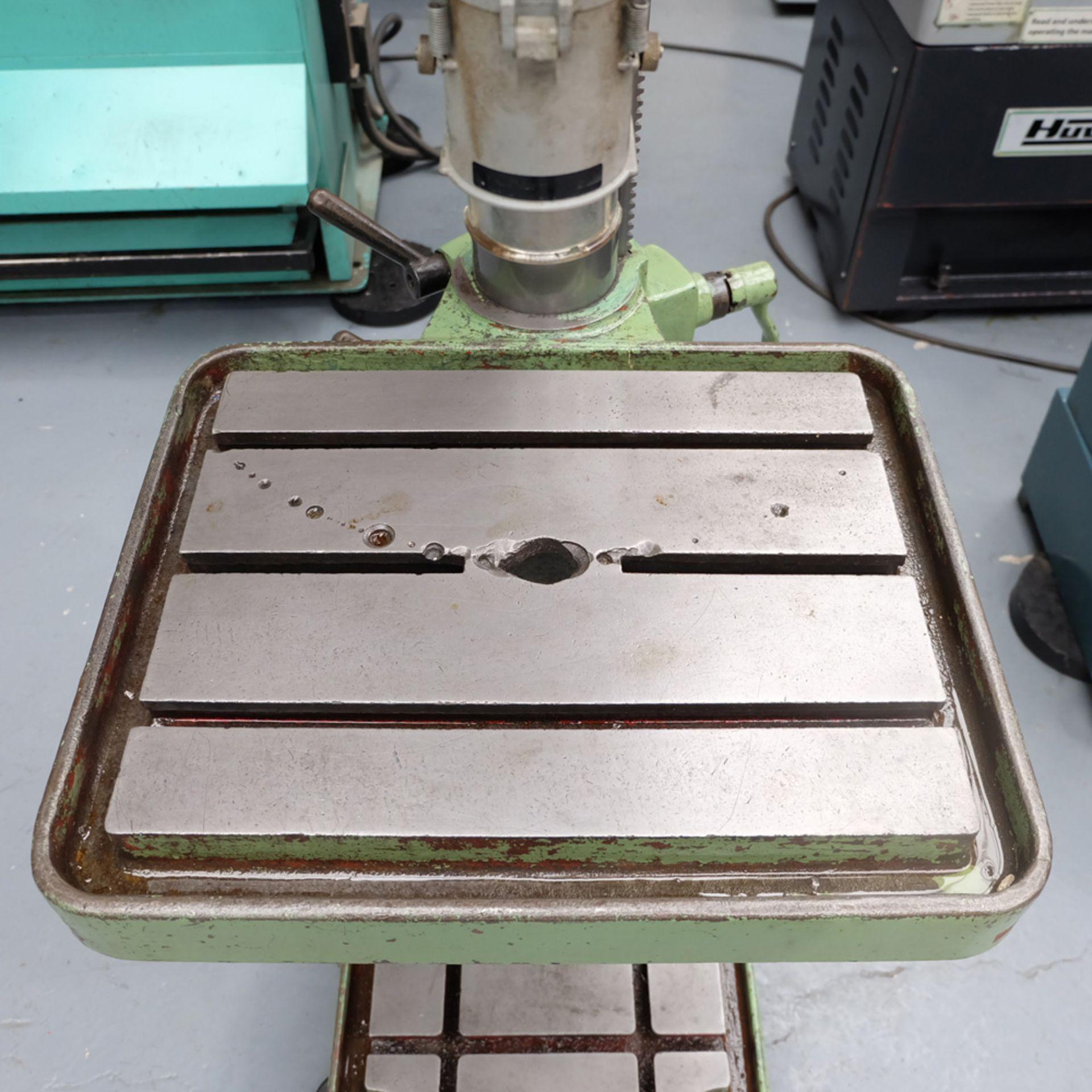 Elliott Progress 3E Gear Driven Pillar Drill. Spindle Taper No.3 Morse. - Image 6 of 8
