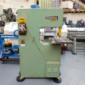 "Startrite 20 RWS Vertical Bandsaw. Throat 20"". Daylight 10""."