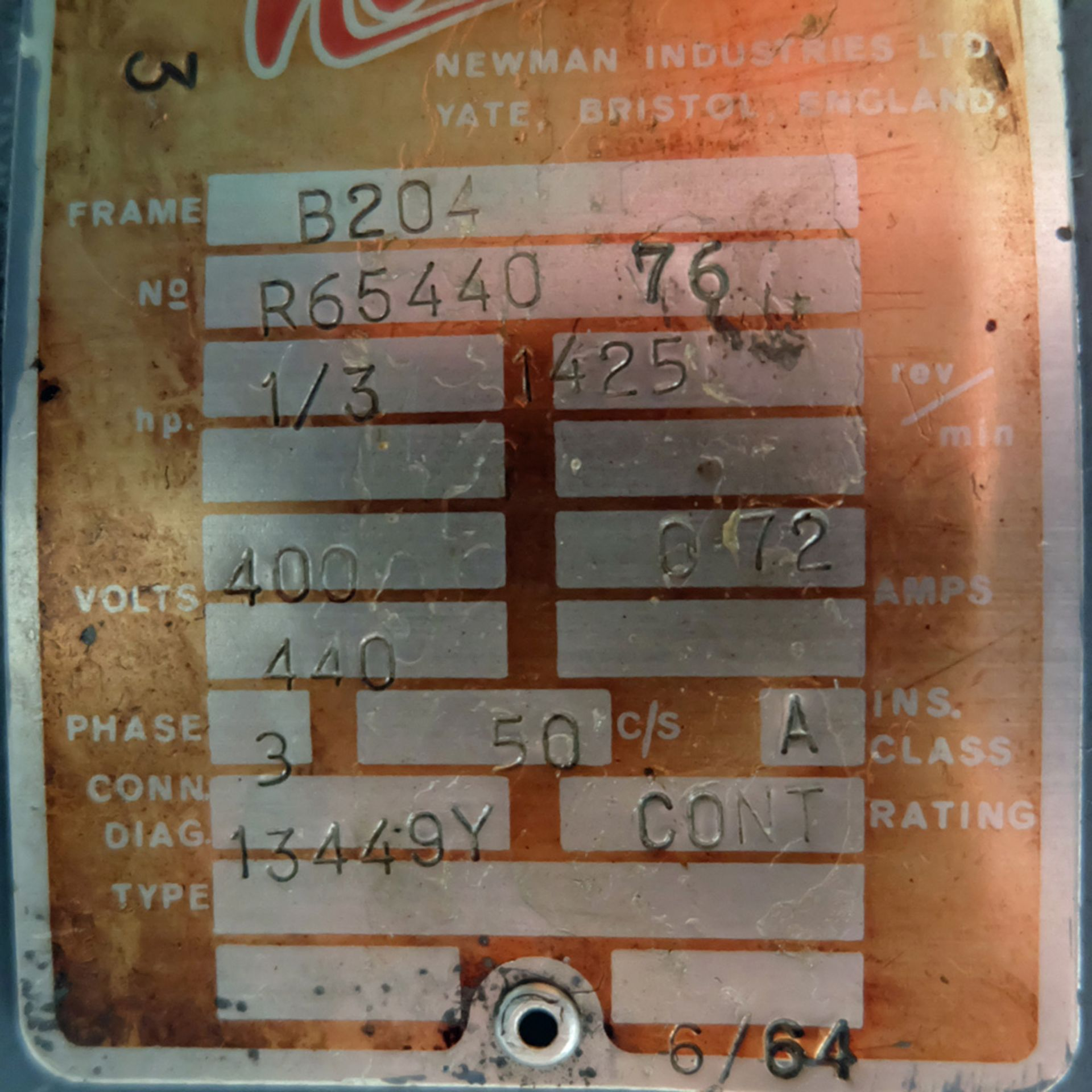 """Meddings Drilltru DTF Bench Drill. Capacity 1/2"""". Table Size 9"""" x 11"""". - Image 7 of 7"""