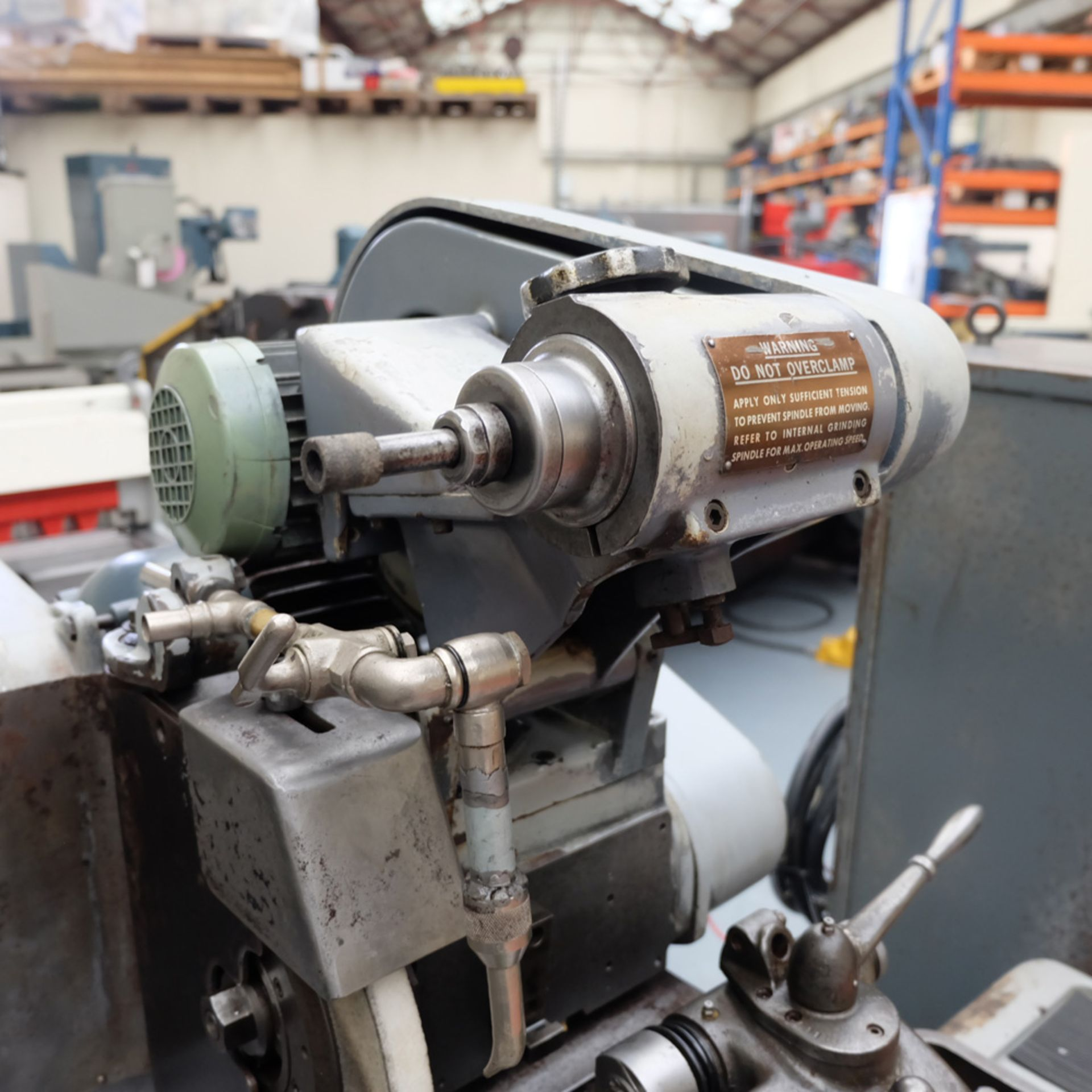 "Myford MG12-HA Hydraulic Cylindrical Grinder. Max Grinding Capacity 3"" Diameter. - Image 6 of 16"