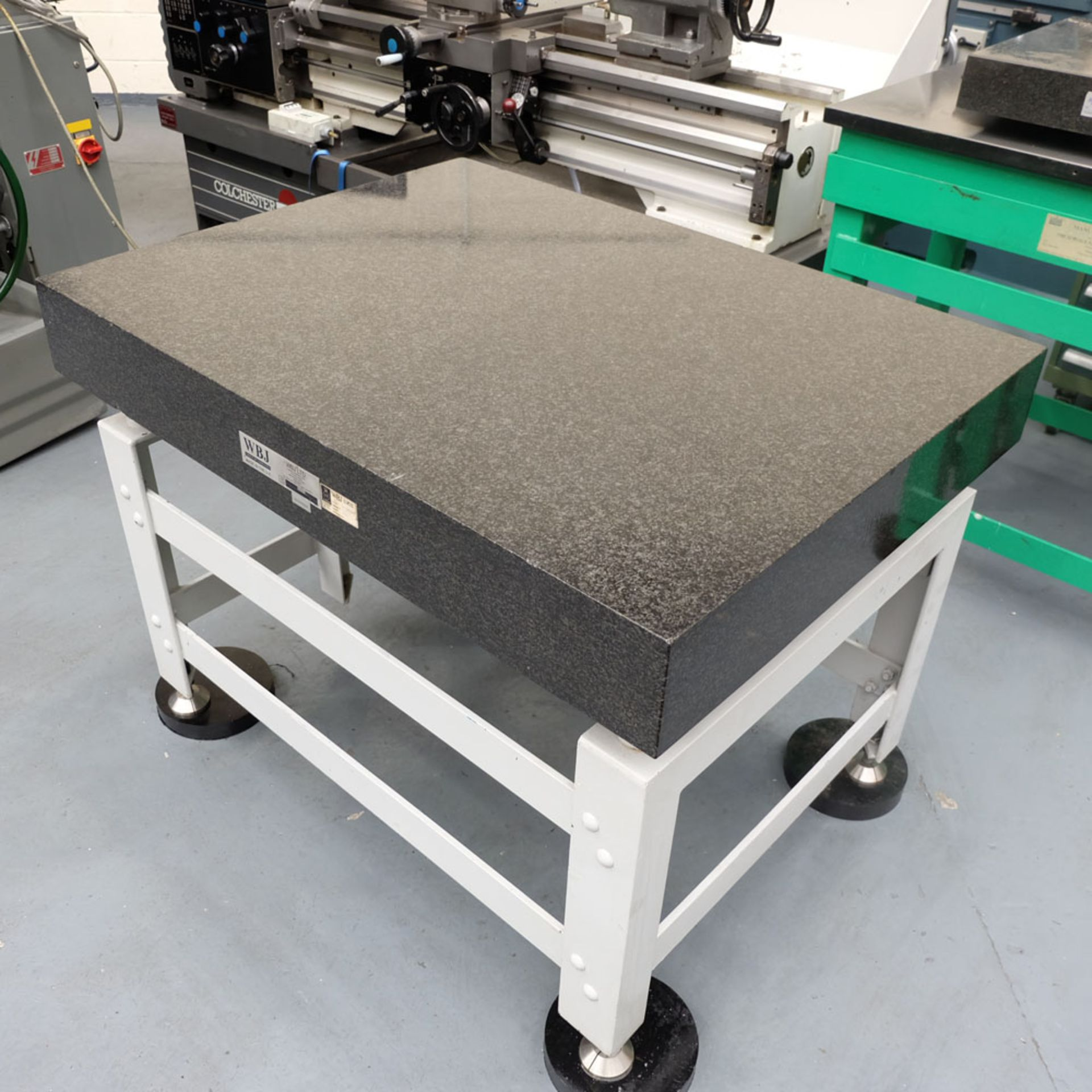 """WBJ Granite Surface Table. Size 48"""" x 36"""". Thickness 6"""". - Image 2 of 6"""