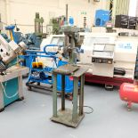 Pollard Corona Model 1FX Bench Drilling Machine. Throat 150mm. Spindle Speeds 500 - 1500rpm.