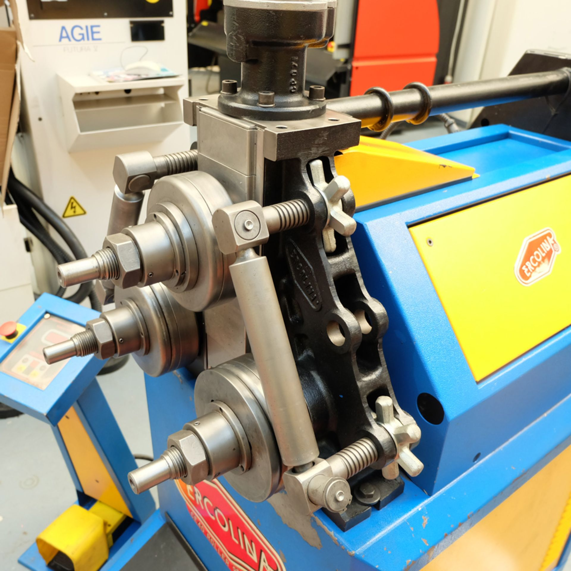 Ercolina Type CE40MR3 Angle Rolls. Horizontal or Vertical Positioning Roll Shaft Diameter 40mm. - Image 5 of 11