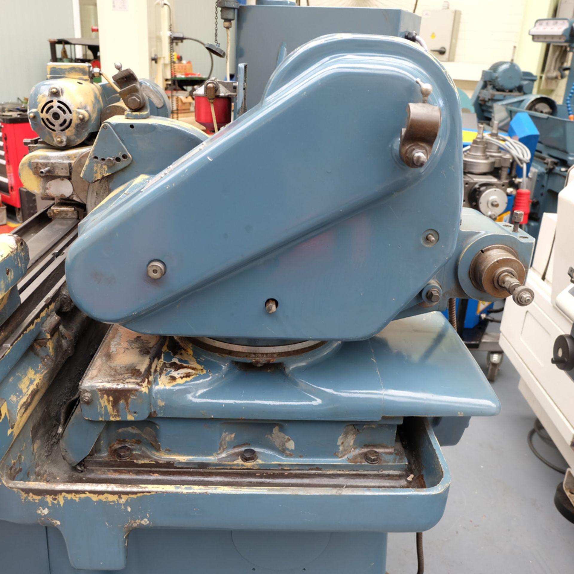 "Jones & Shipman Model 1310 EIU Universal Cylindrical Grinder. Capacity 18"" x 8"". - Image 6 of 11"