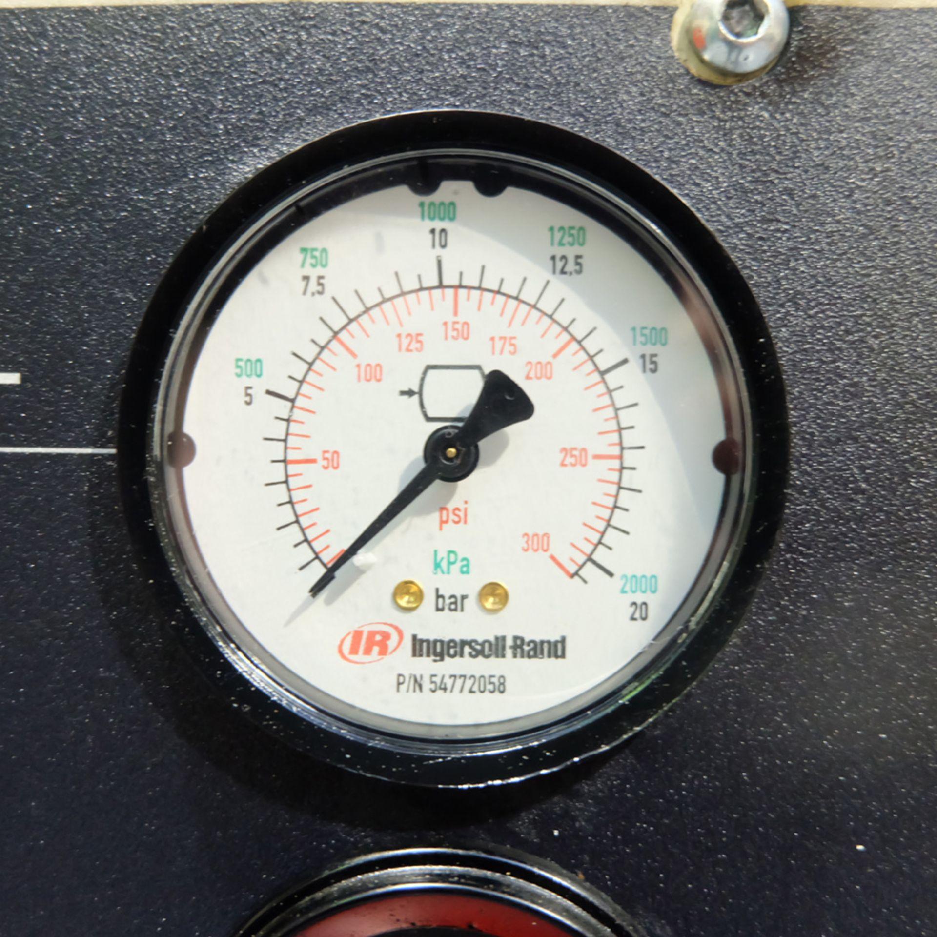 Ingersoll Rand Model R5.5IU D-SD Rotary Air Compressor. Working Pressure 10 Bar. - Image 5 of 9