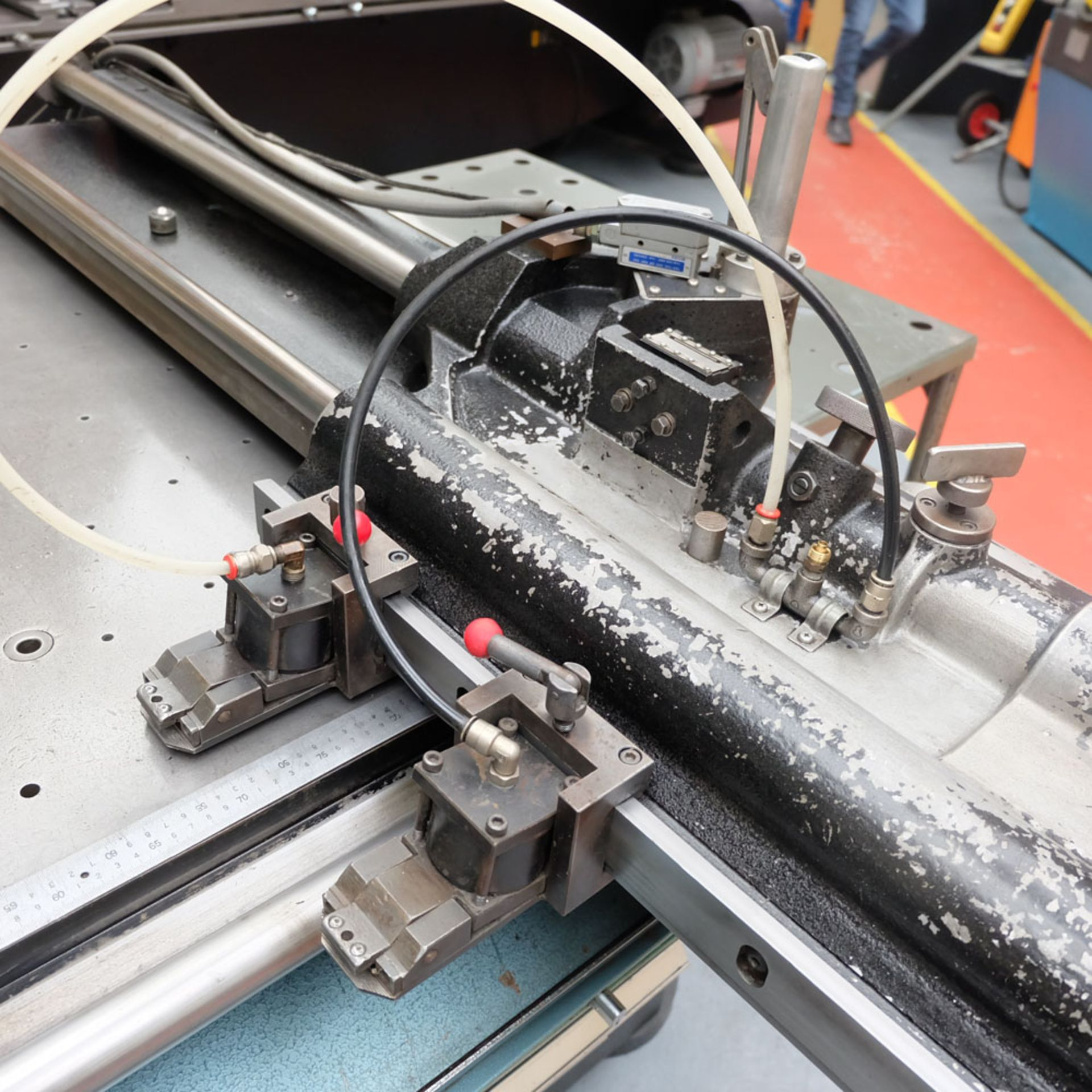 Amada D-750 Duplicator Punching Machine with Tooling and Digital Readout. - Image 4 of 8
