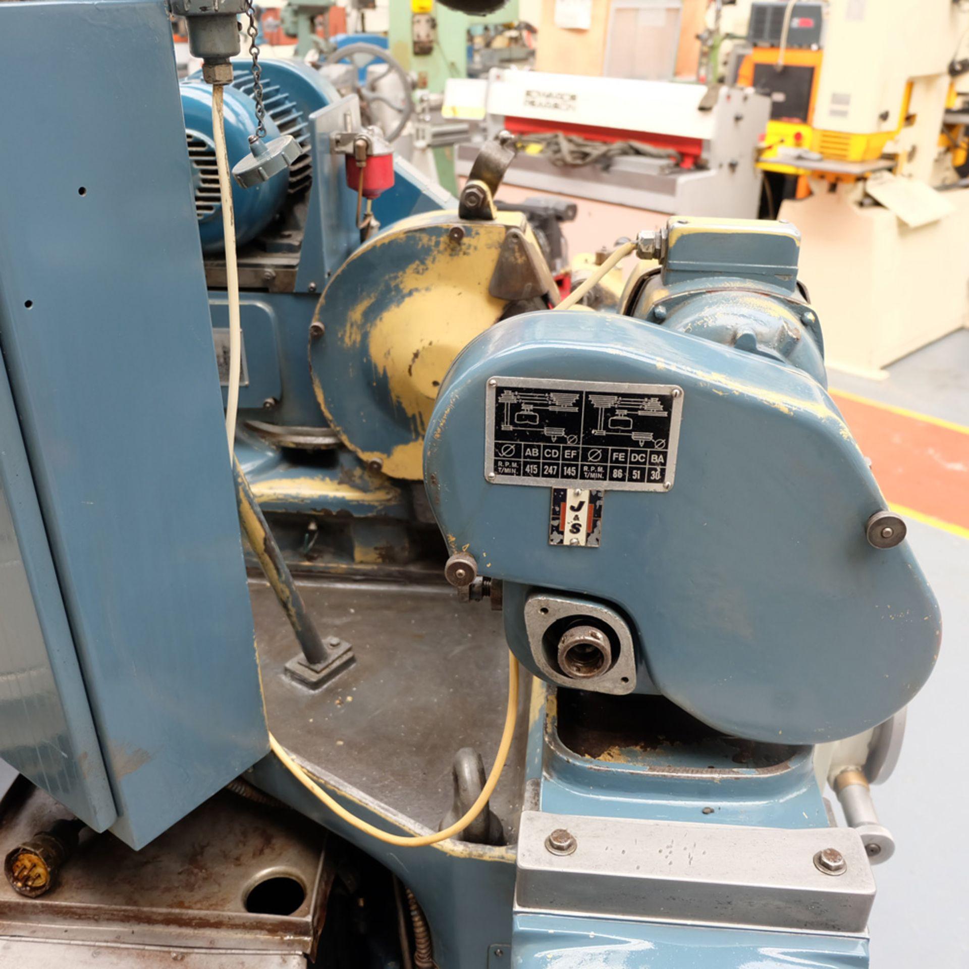 "Jones & Shipman Model 1310 EIU Universal Cylindrical Grinder. Capacity 18"" x 8"". - Image 9 of 11"