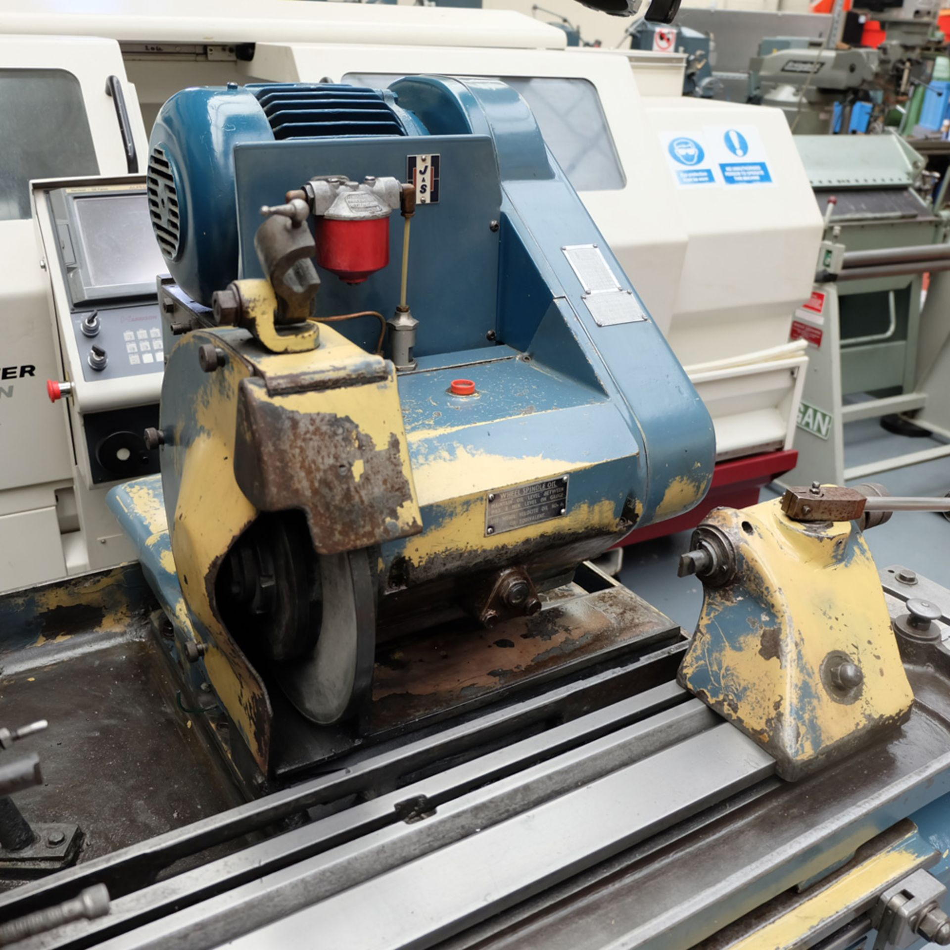 "Jones & Shipman Model 1310 EIU Universal Cylindrical Grinder. Capacity 18"" x 8"". - Image 4 of 11"