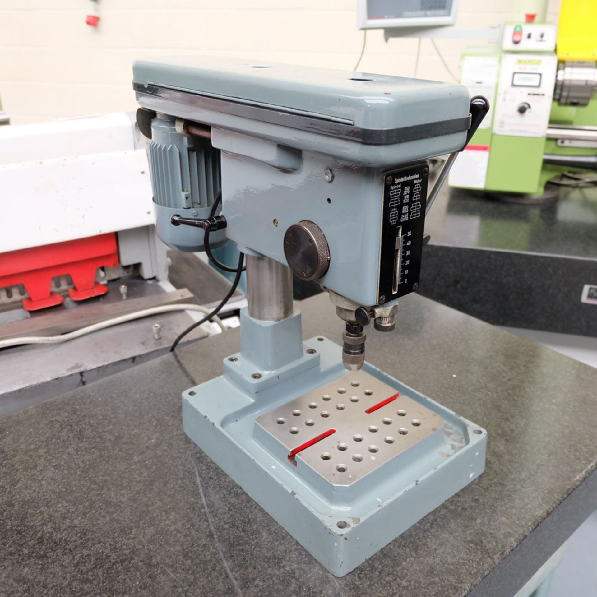 "Worner Type B4 High Speed Bench Drill. Drill Chuck Capacity 0-5/32"". - Image 3 of 9"