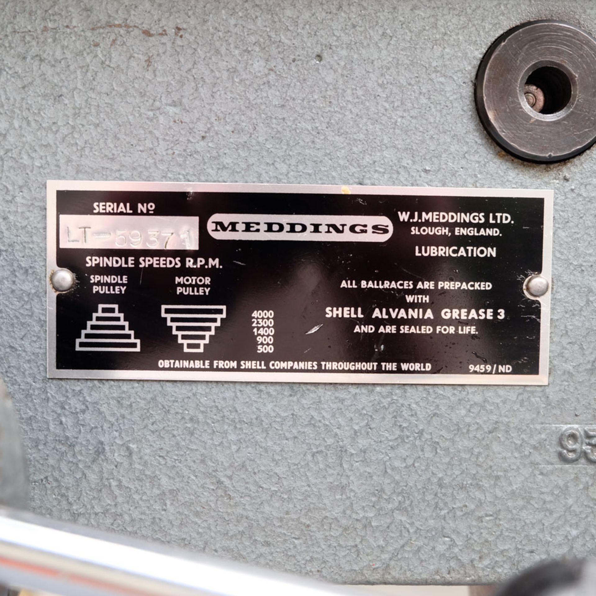 """Meddings LT Pillar Drill. Capacity 1/2"""". 5 Speeds 500 - 4000rpm. - Image 5 of 5"""