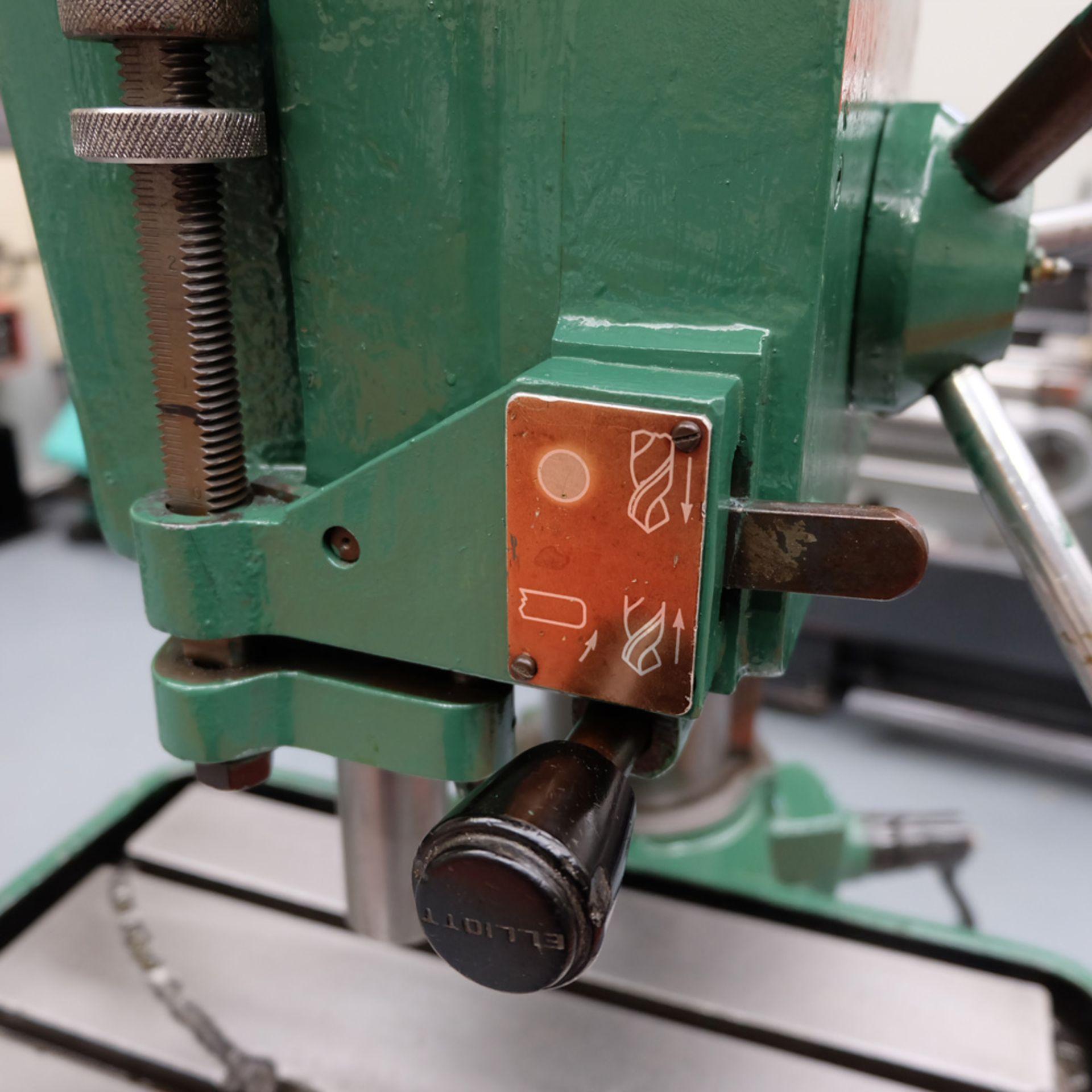 Elliott Progress 3A Heavy Duty Pillar Drill. Spindle Taper No.3 Morse. - Image 9 of 9