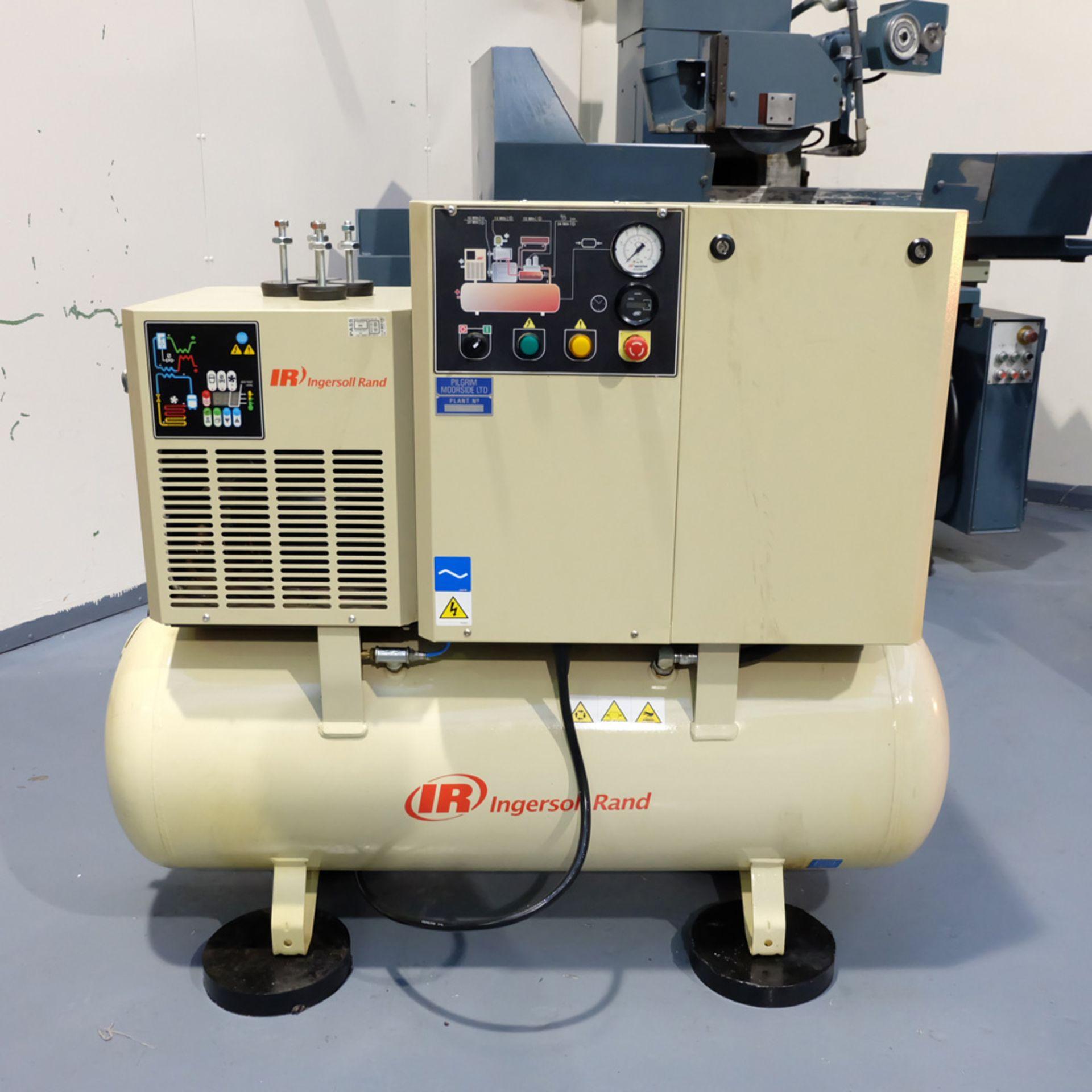 Ingersoll Rand Model R5.5IU D-SD Rotary Air Compressor. Working Pressure 10 Bar.