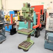 Elliott Progress 3E Gear Driven Pillar Drill. Spindle Taper No.3 Morse.