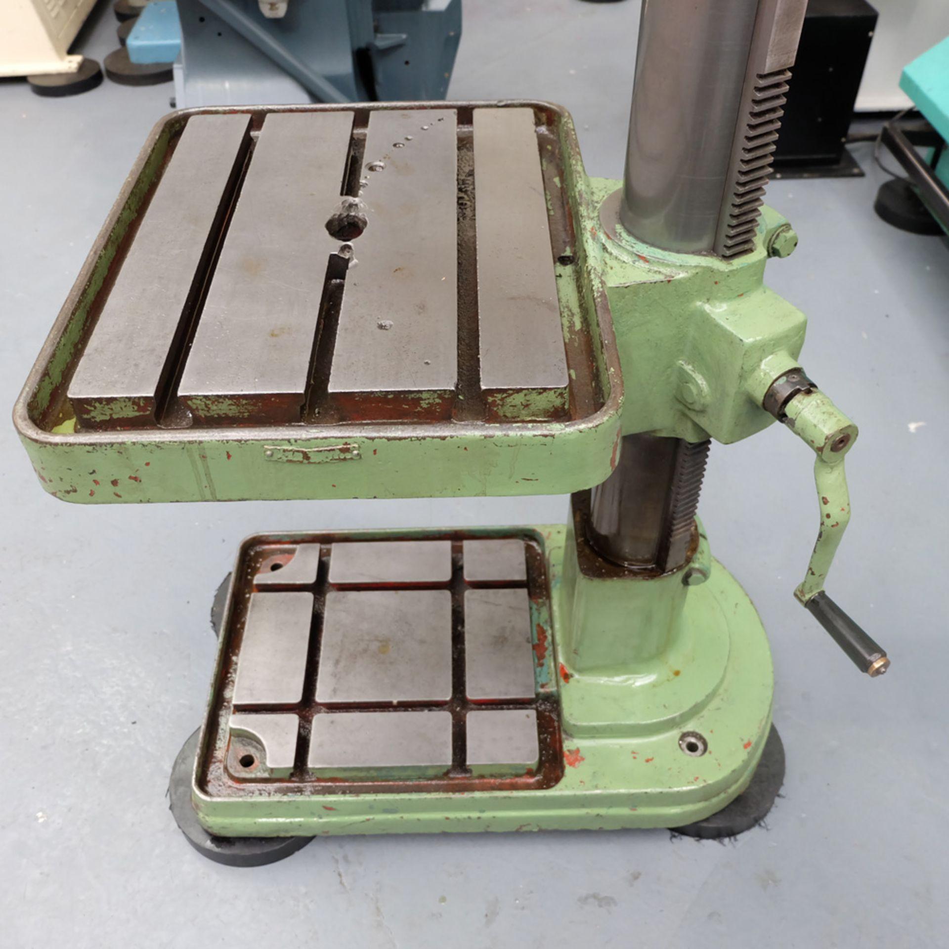 Elliott Progress 3E Gear Driven Pillar Drill. Spindle Taper No.3 Morse. - Image 7 of 8