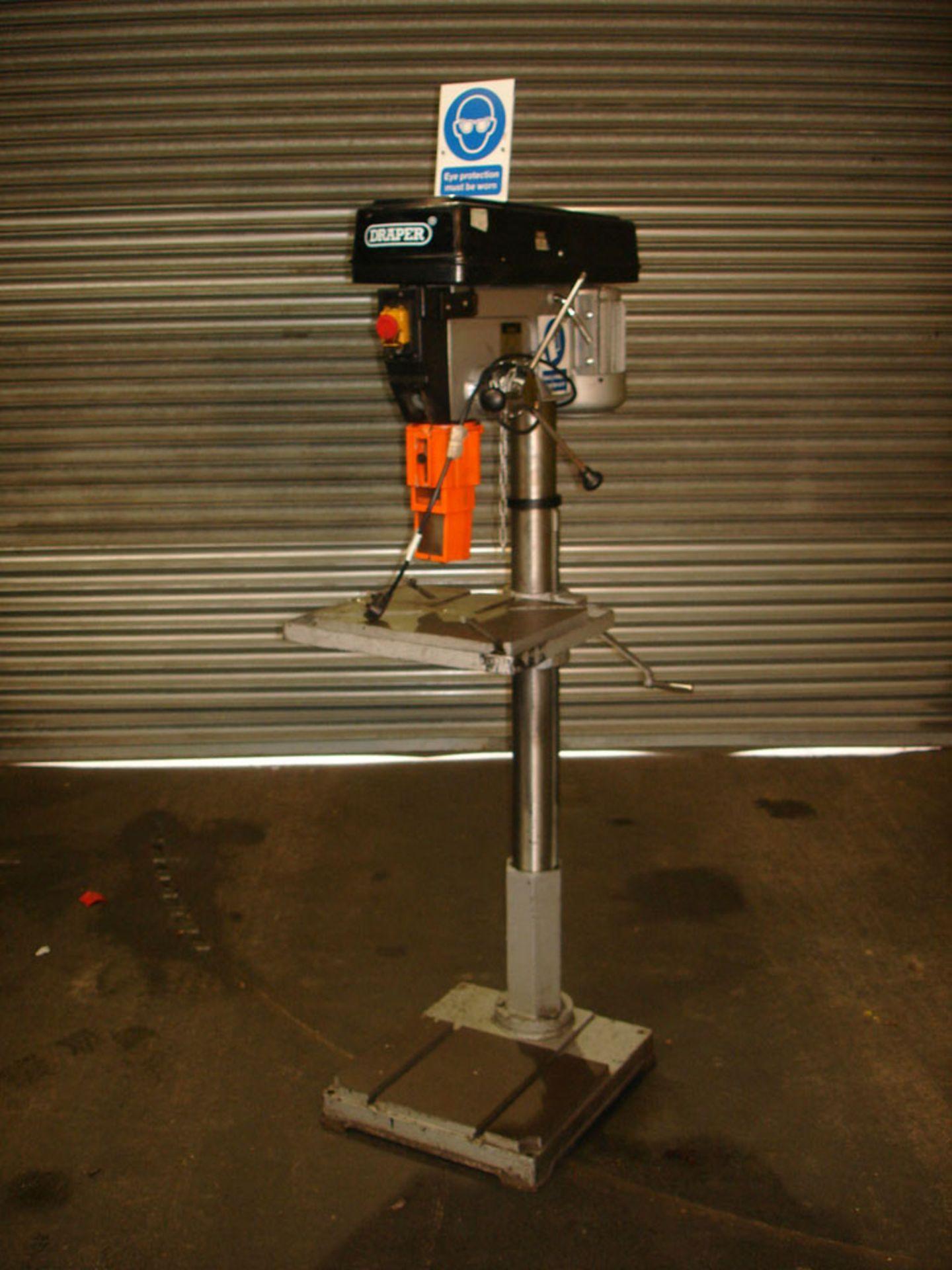 Draper Pillar Drill. Capacity 25 mm. 3 Morse Taper.