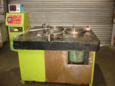 "Lapmaster 36"" Lapping Machine. With Rings and Diamond Fluid Dispenser."
