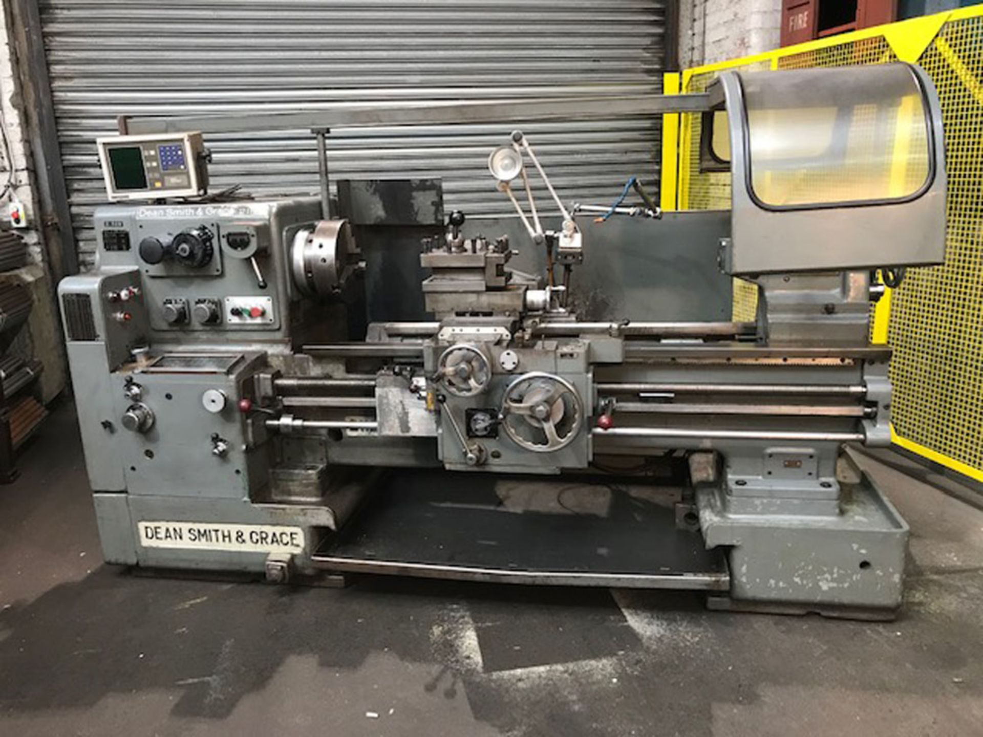 """Dean Smith & Grace 2112 x 50 Gap Bed Centre Lathe. Swing Over Bed 21"""". Distance Between Centres 50""""."""