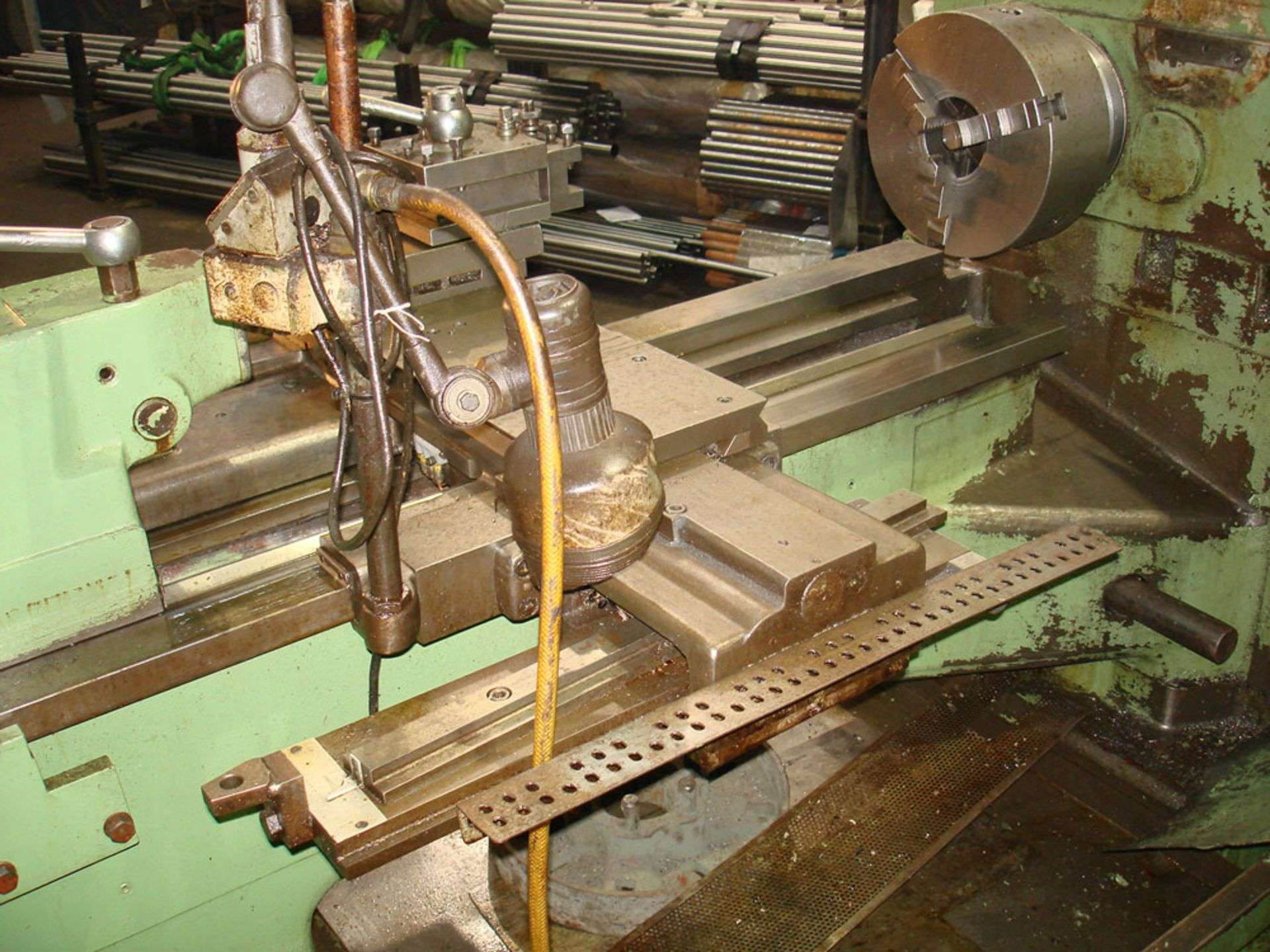 """Dean Smith & Grace 1709 Centre Lathe. Swing 17"""" Over Bed. 40"""" Between Centres. - Image 5 of 6"""