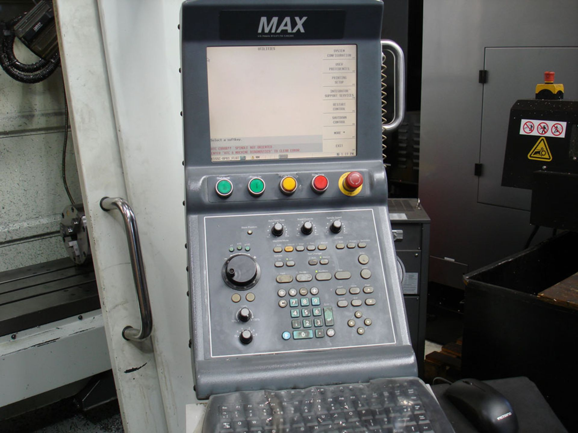 HURCO VM3 Vertical Machining Centre. Year 2008. Hurco Max Control. Table Size 1321 x 457 mm. - Image 5 of 9