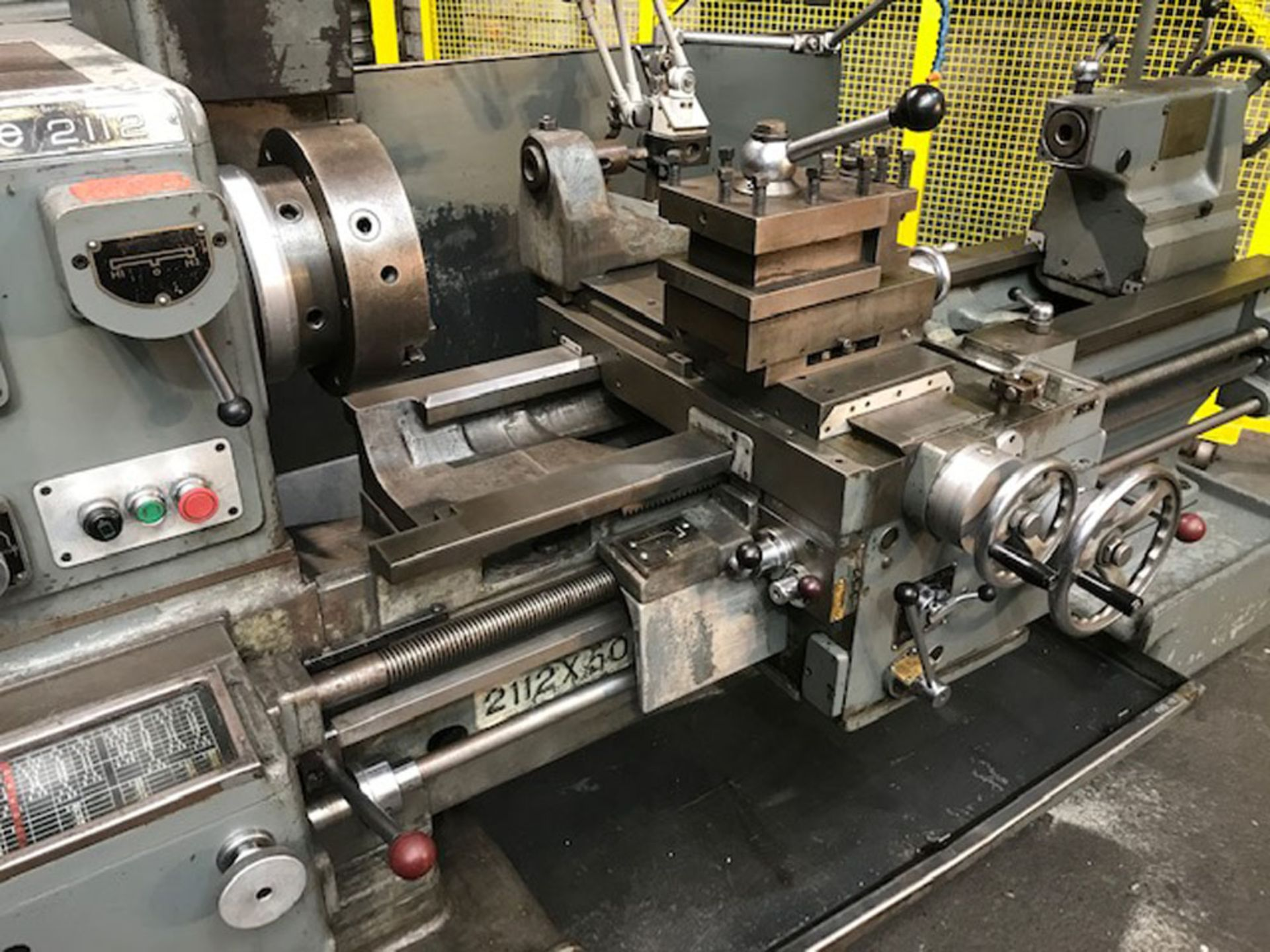 """Dean Smith & Grace 2112 x 50 Gap Bed Centre Lathe. Swing Over Bed 21"""". Distance Between Centres 50"""". - Image 3 of 9"""