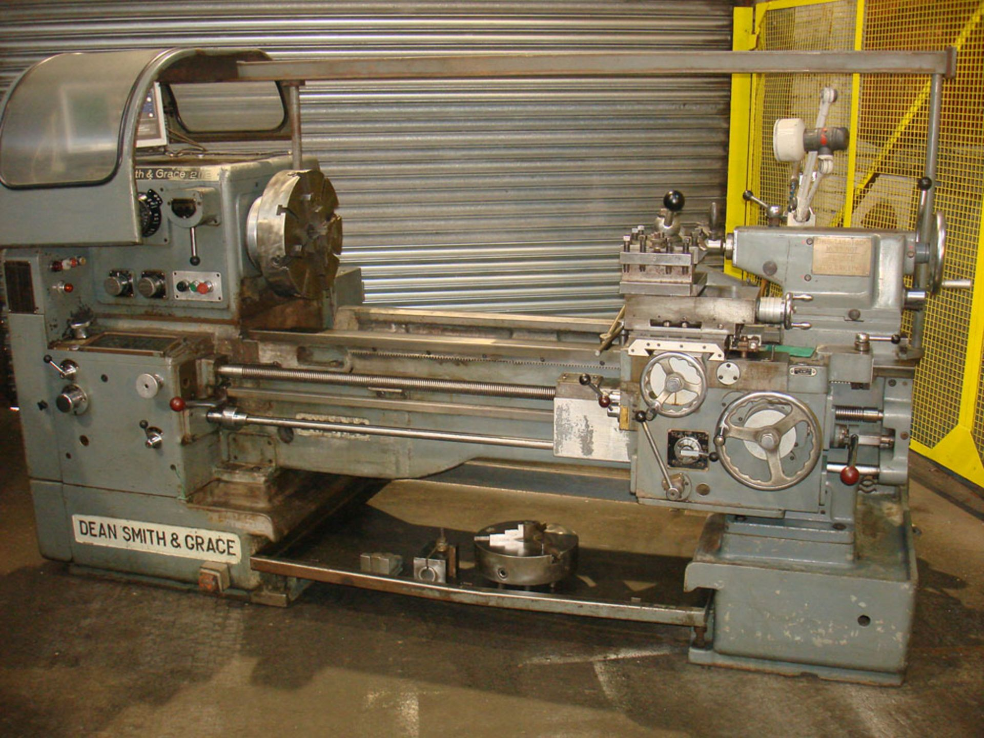 """Dean Smith & Grace 2112 x 50 Gap Bed Centre Lathe. Swing Over Bed 21"""". Distance Between Centres 50"""". - Image 5 of 9"""