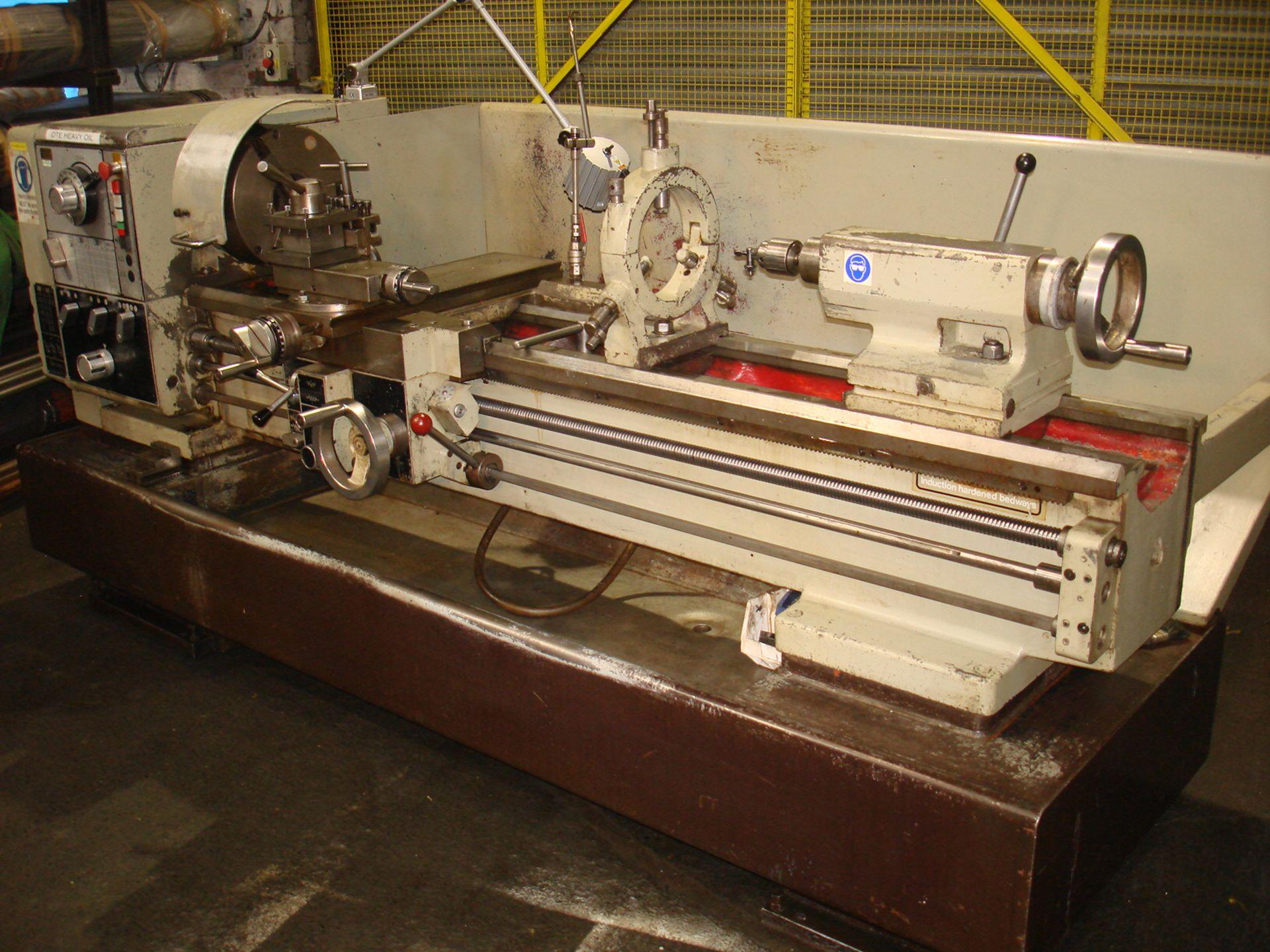 Harrison M400 Gap Bed Centre Lathe. Swing 430 mm x 1500mm. - Image 2 of 6