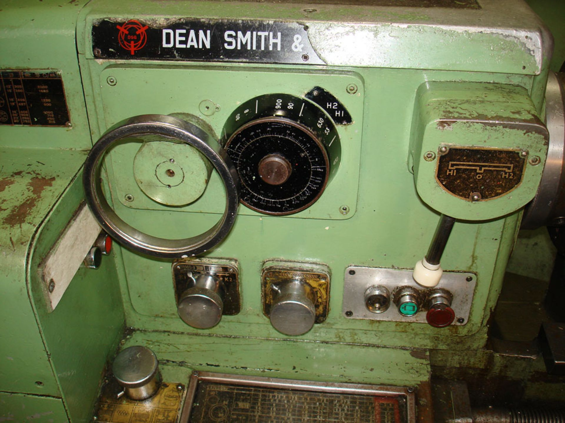 """Dean Smith & Grace 1709 Centre Lathe. Swing 17"""" Over Bed. 40"""" Between Centres. - Image 3 of 6"""