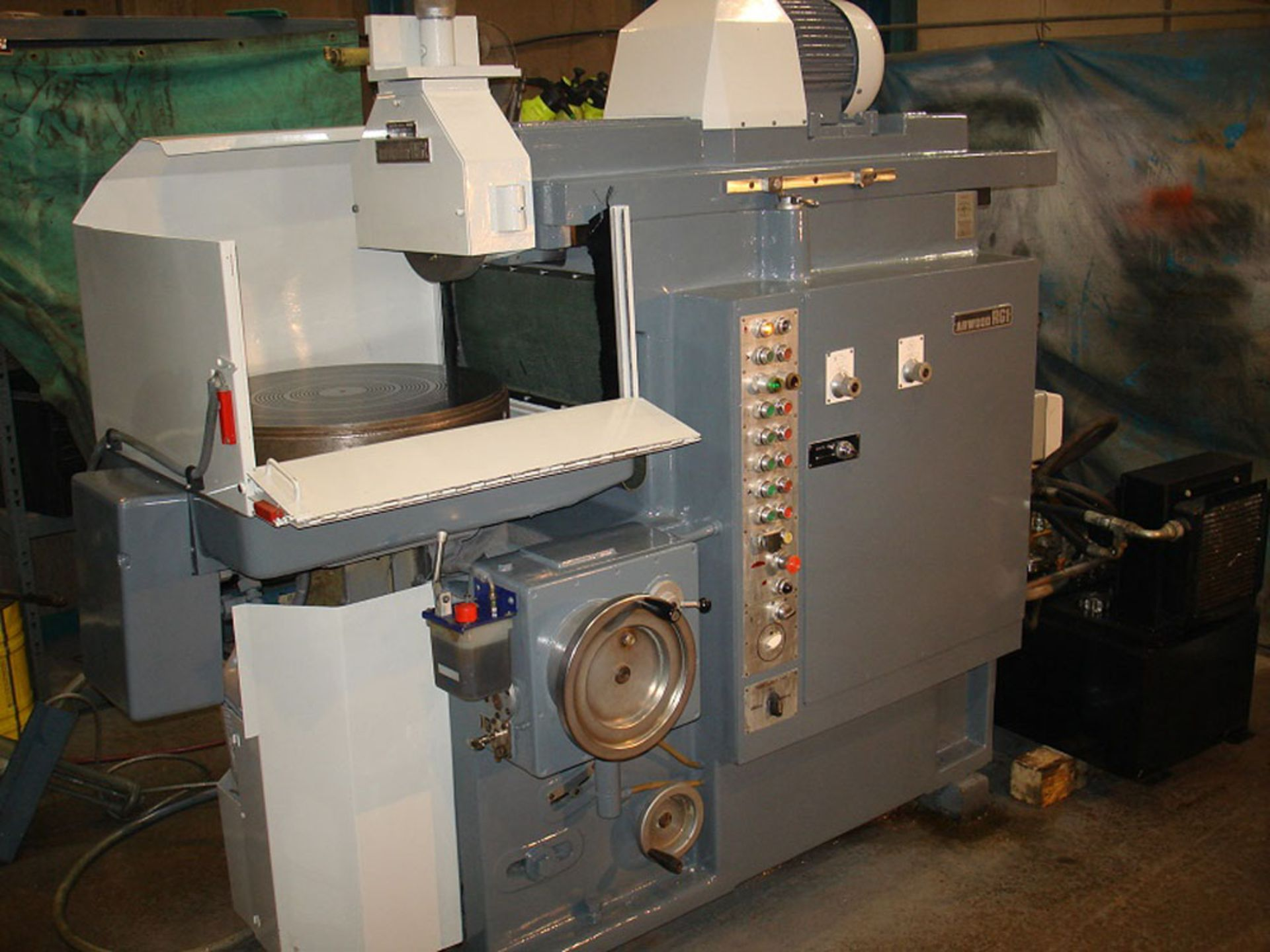 Abwood RG1 Rotary Table Surface Grinder. Magnet Diameter 600mm.