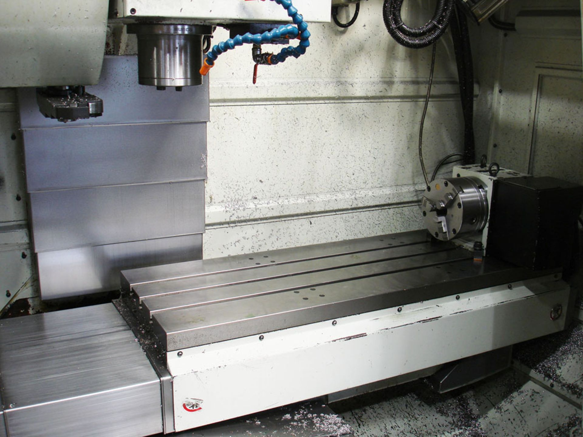 HURCO VM3 Vertical Machining Centre. Year 2008. Hurco Max Control. Table Size 1321 x 457 mm. - Image 4 of 9