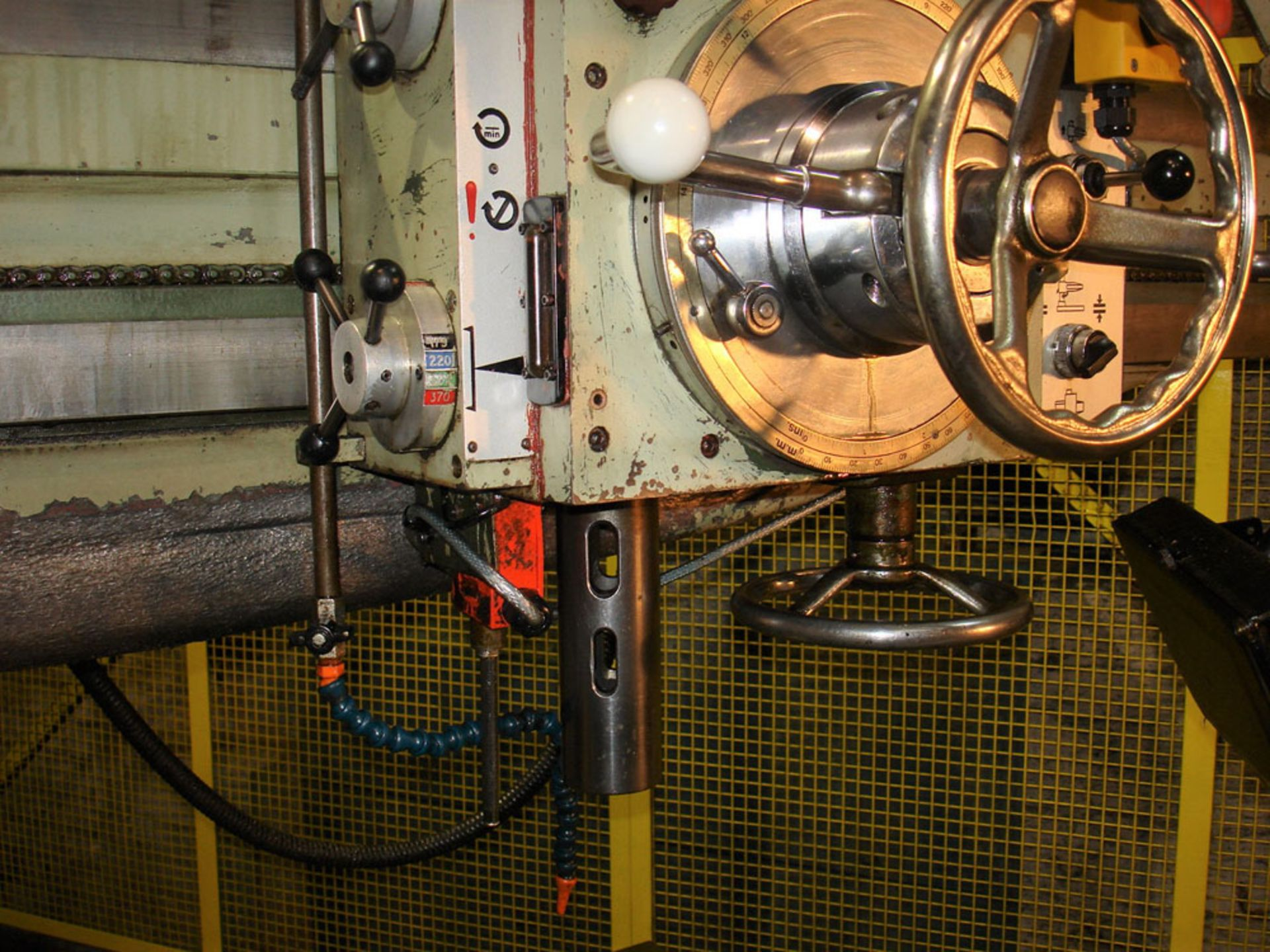 Asquith OD1 MK2 16/72 Radial Arm Drill. Arm Length 6ft. Spindle 5 Morse Taper. - Image 4 of 7