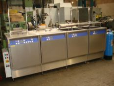 Turbex Elmasonic X-Tra Pro-1600 Ultrasonic Cleaner. Type Pro-1600 Elma Control.