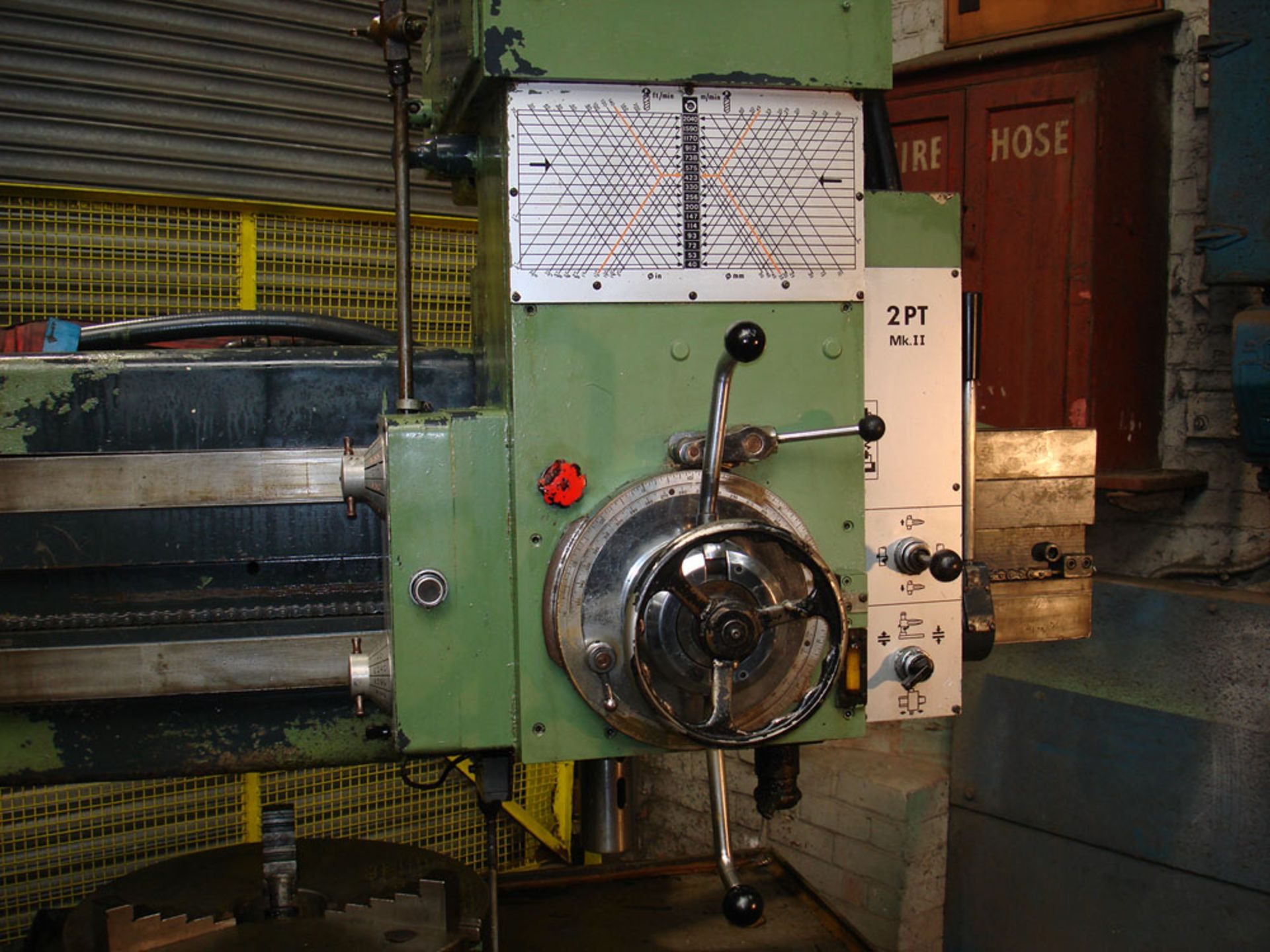 """Asquith Power thrust 4ft 6 Radial Arm Drill. Arm length 4ft 6"""". - Image 2 of 7"""