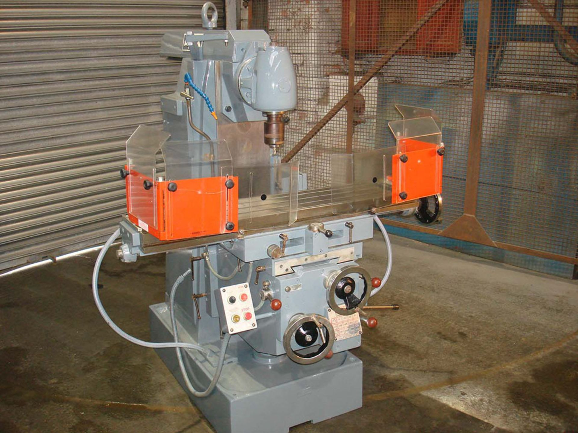 Ajax Model UP Universal Milling Machine. Table 1100 x 240mm. Long Traverse 750mm. - Image 2 of 6