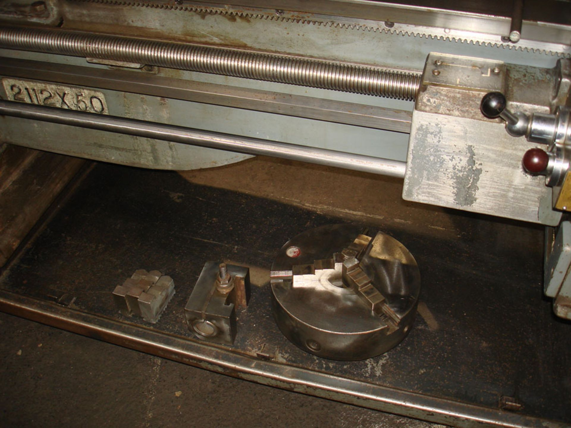 """Dean Smith & Grace 2112 x 50 Gap Bed Centre Lathe. Swing Over Bed 21"""". Distance Between Centres 50"""". - Image 9 of 9"""